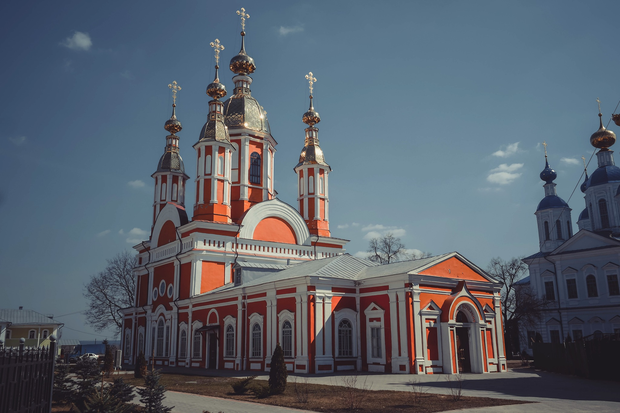 Russian monastery....built in 1794. by Alexandr  Seleznev