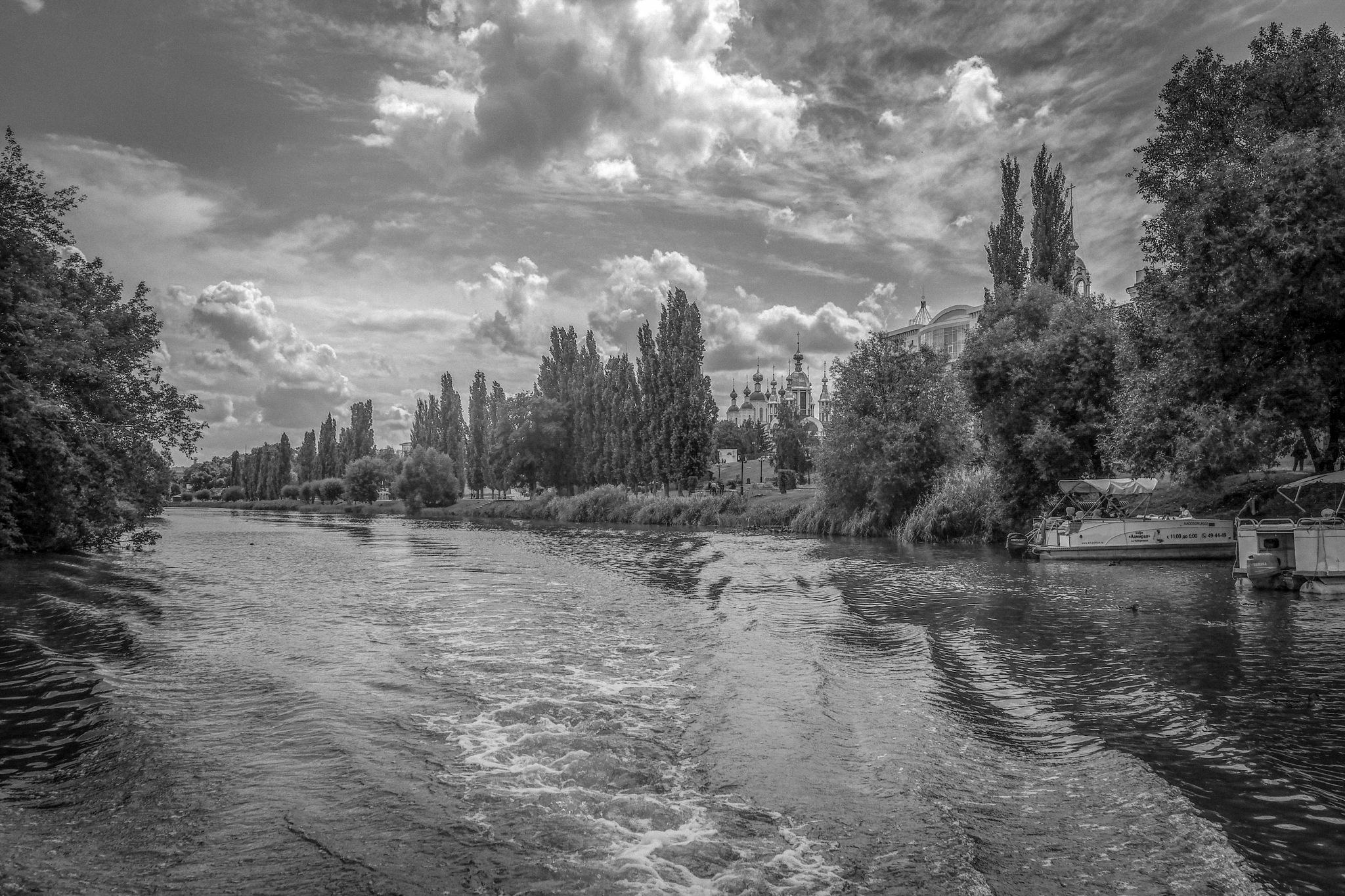 On the river Tsna ...... by Alexandr  Seleznev