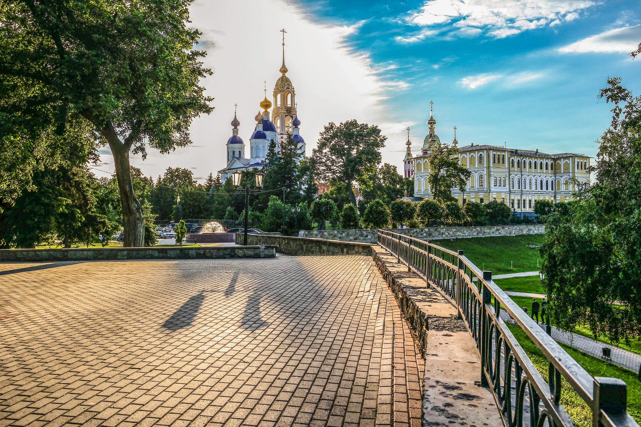Russian monastery...... by Alexandr  Seleznev