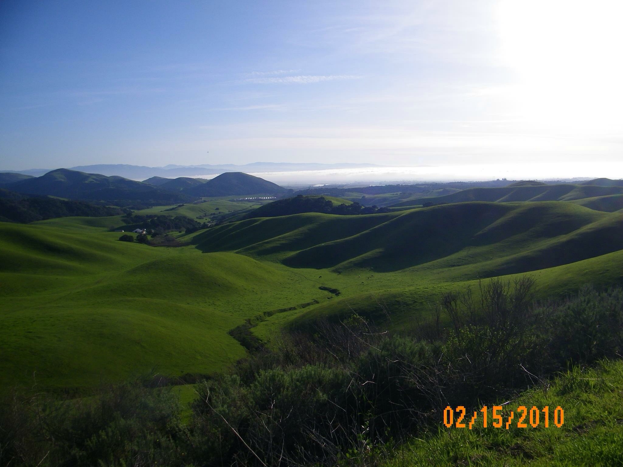 Salinas Valley from San Juan Grade/Old Stage Coach Rd by Diane Kannely Britt
