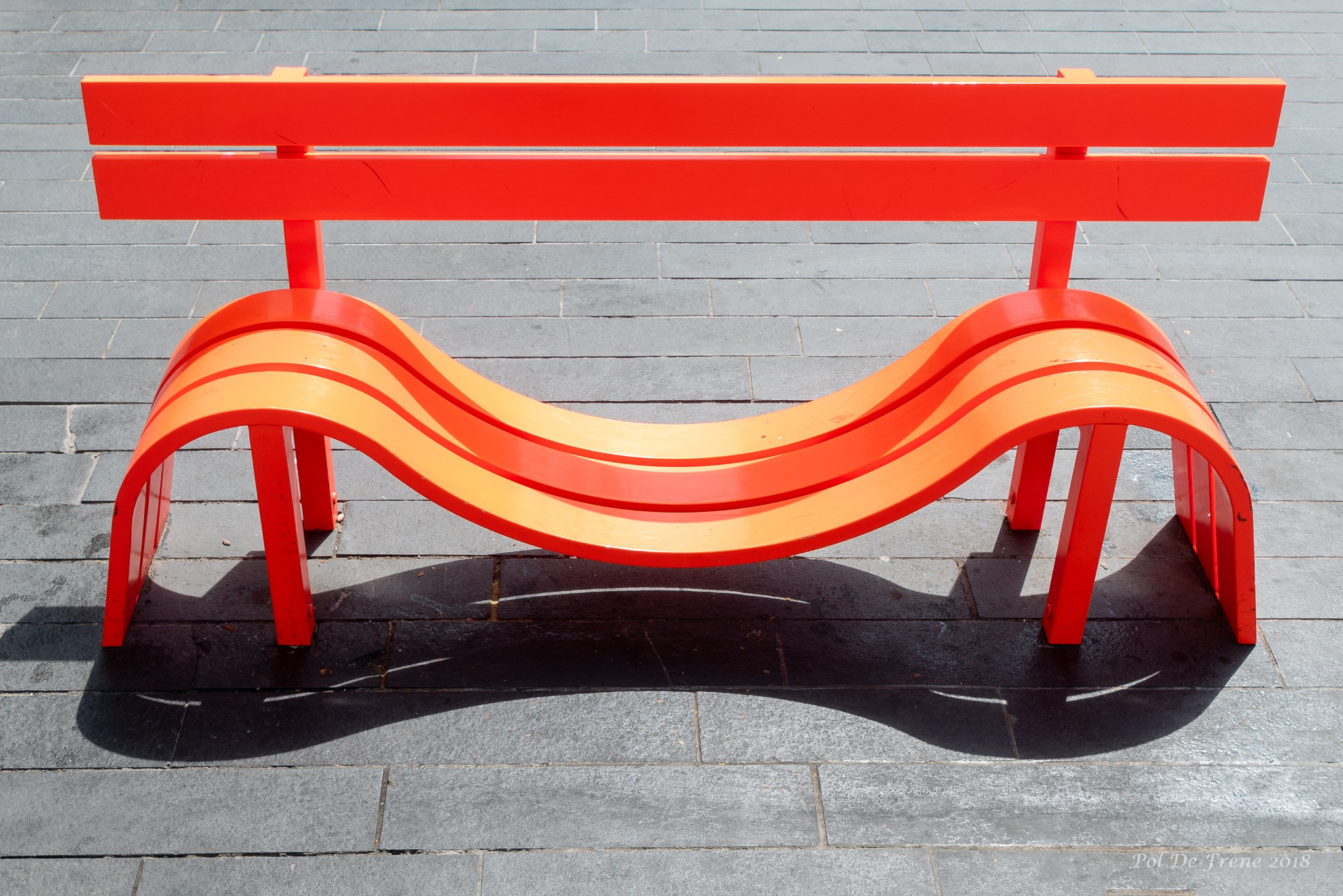 Bench by poldefrene