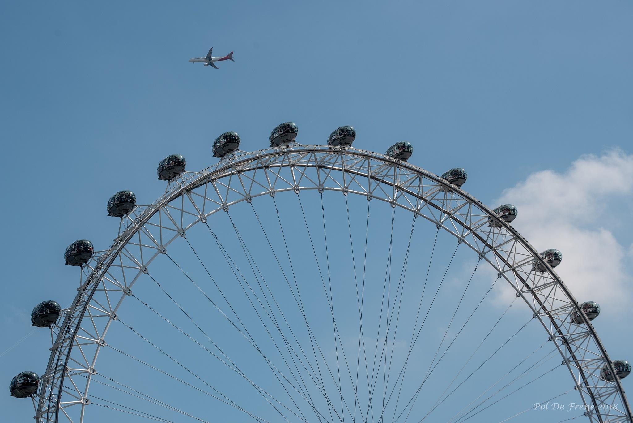 London eye by poldefrene
