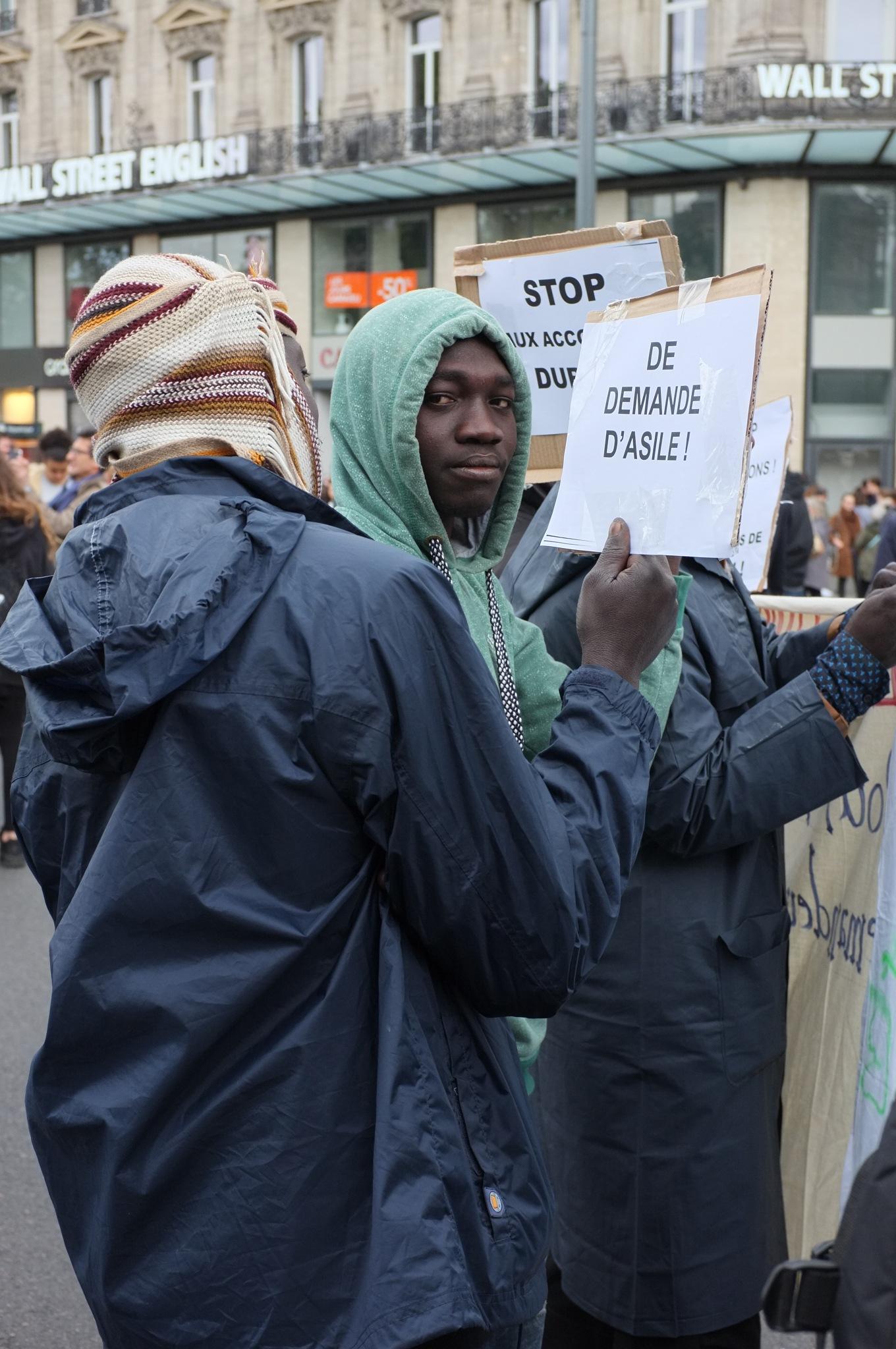 Réfugiés Soudanais by Bruno Del Negro
