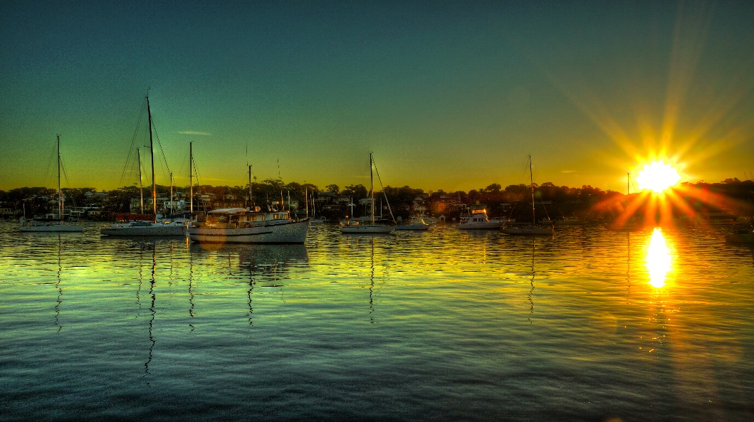 Photo in Sea and Sand #sunset #wather #boats