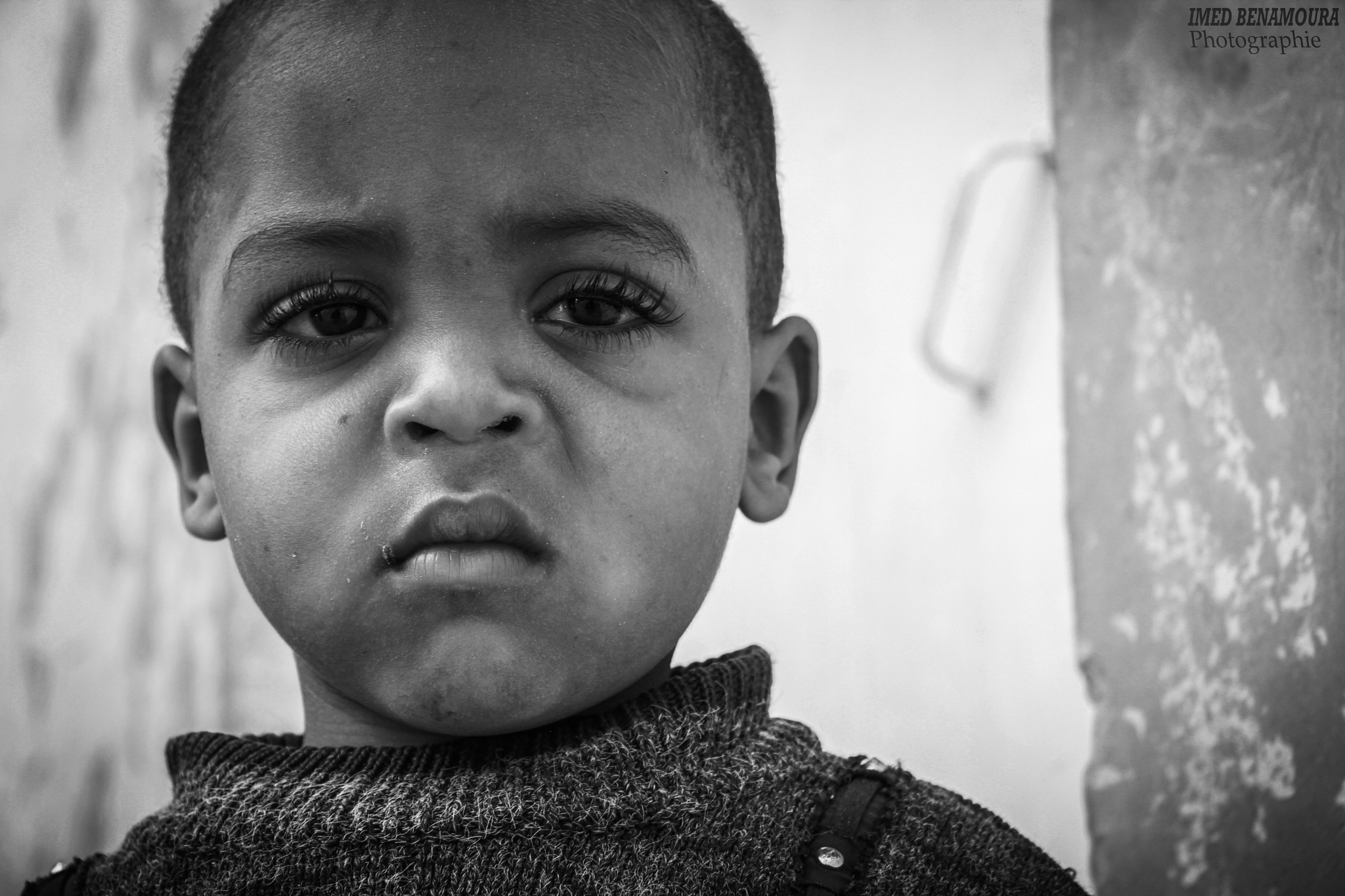 """black and white """"look at the world through the eyes of a child"""" by IMEDBphotography"""