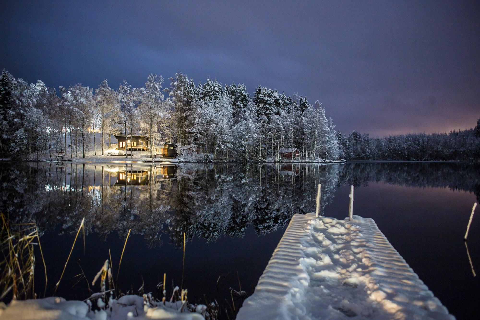 Finnish Lakeland by Bernhard Kapelari