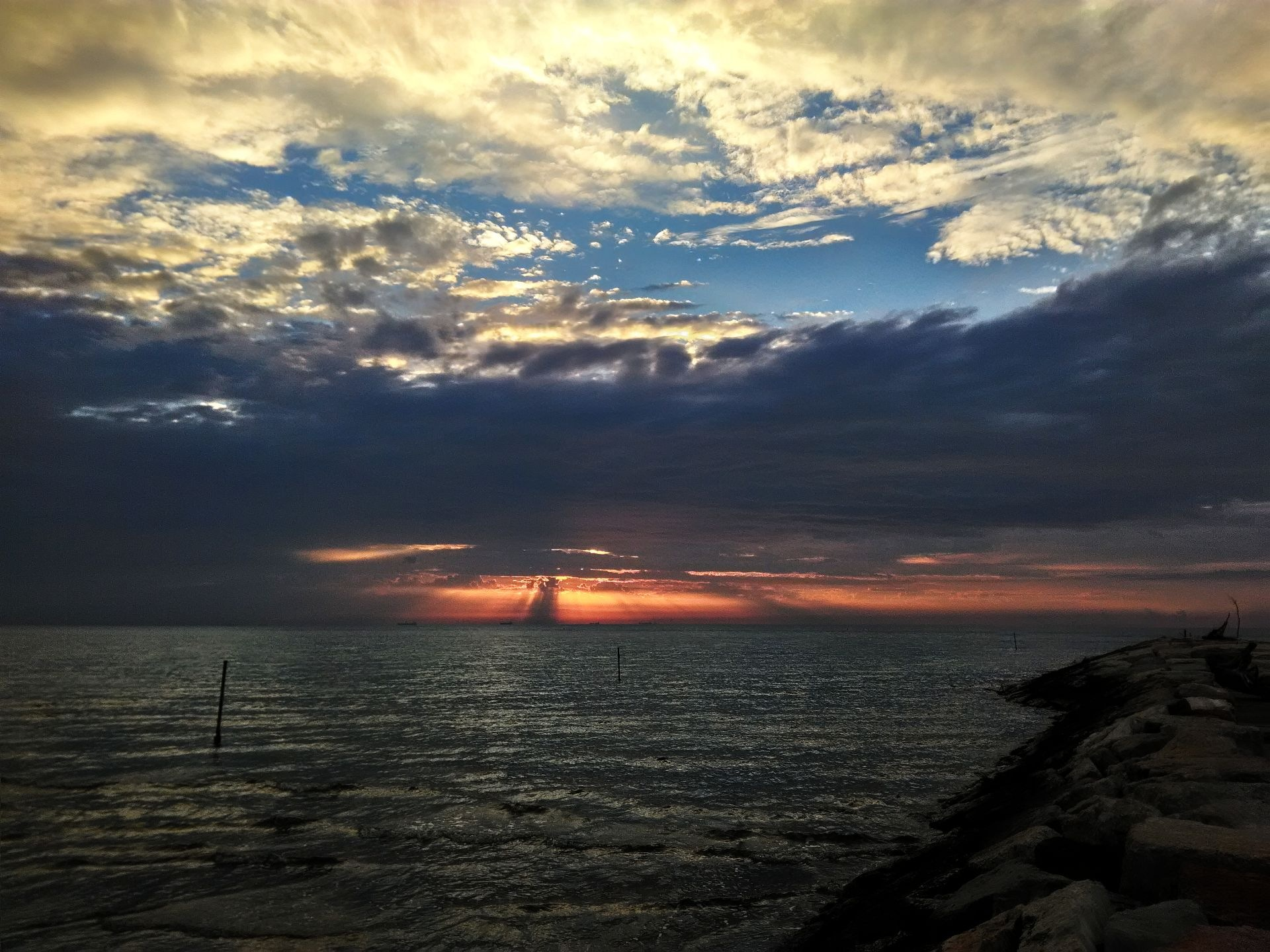 Sunrise infused by Eugenio Penzo