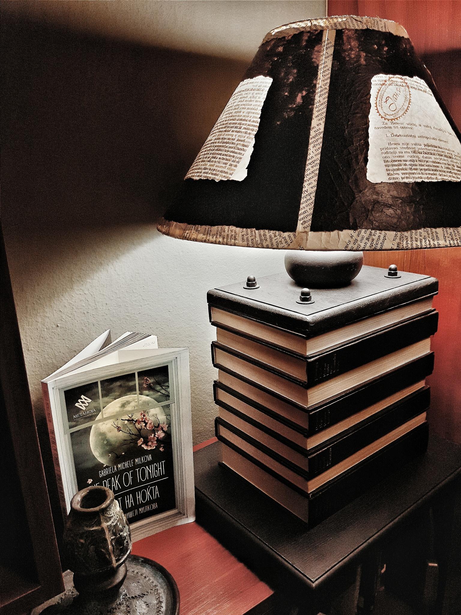 Book-Lamp by @darijaginger