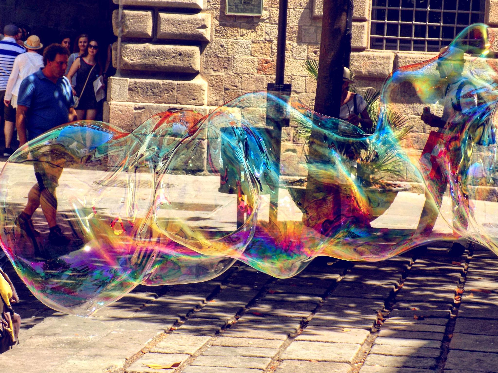 Bubbles by @darijaginger