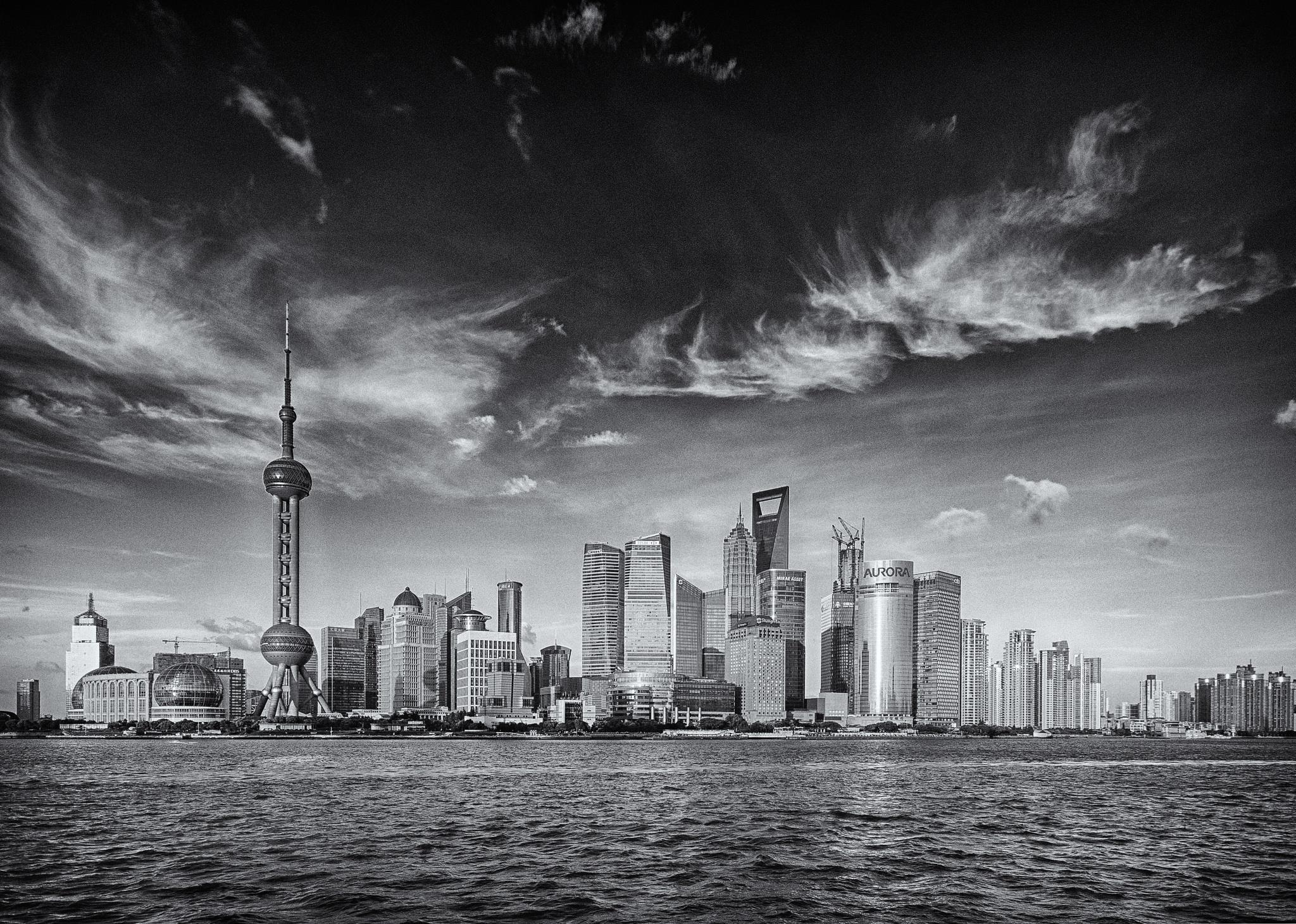 Pudong by Attila Balogh