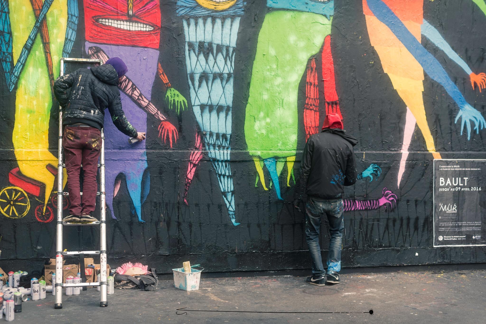 colors in town by Vanna Santoro