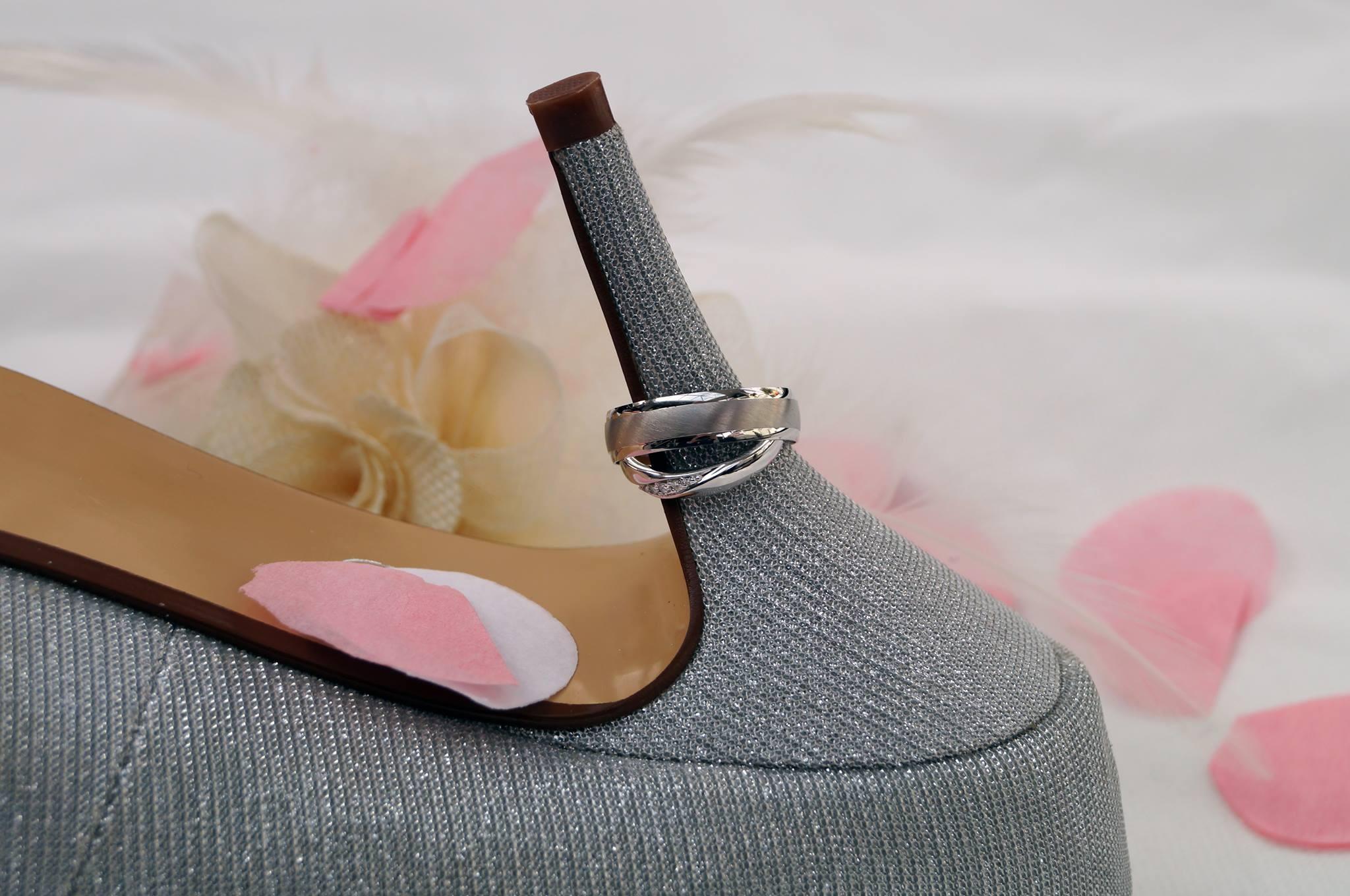 the wedding shoe by Dan Collins