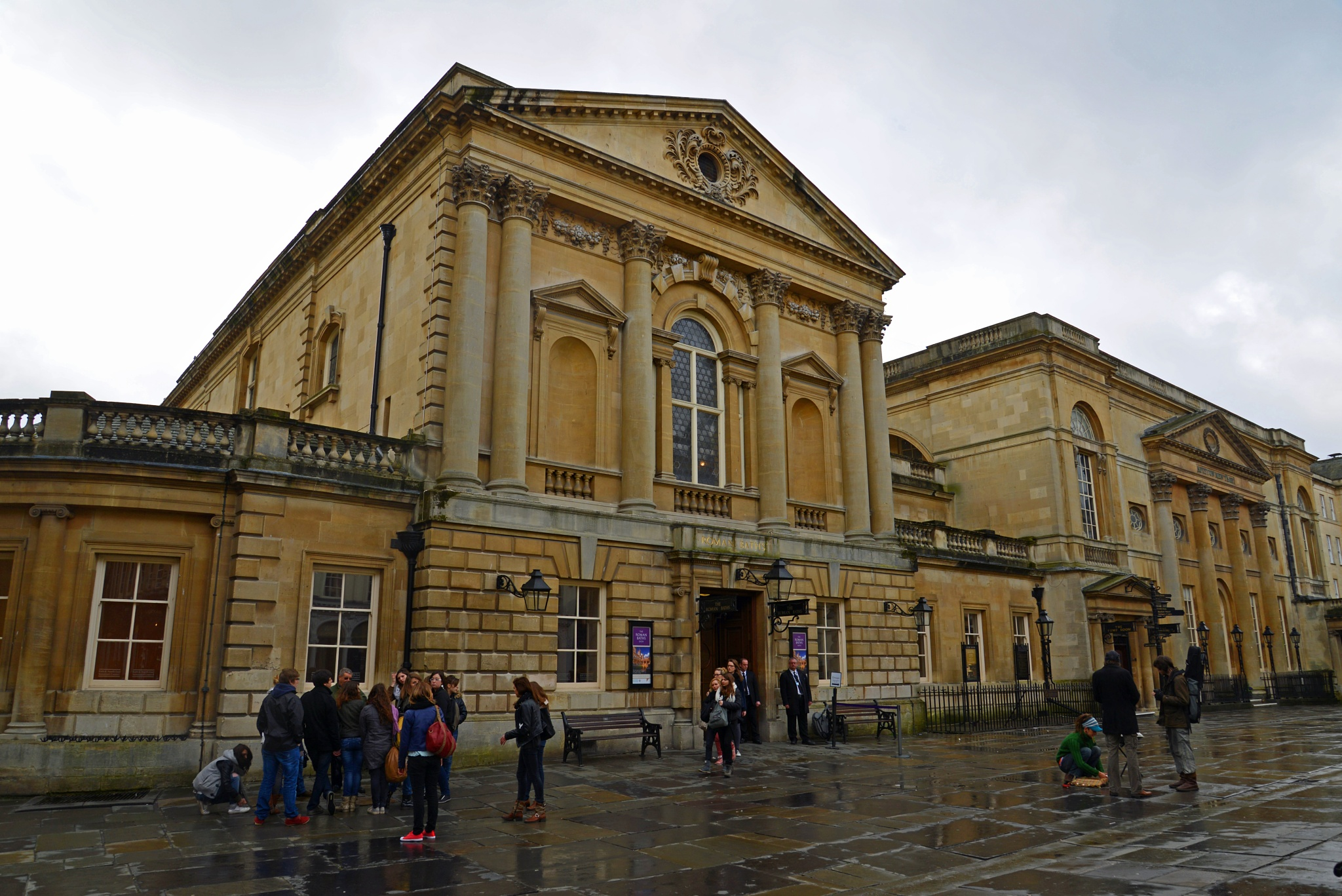 Bath's Roman History, 1. by jamez