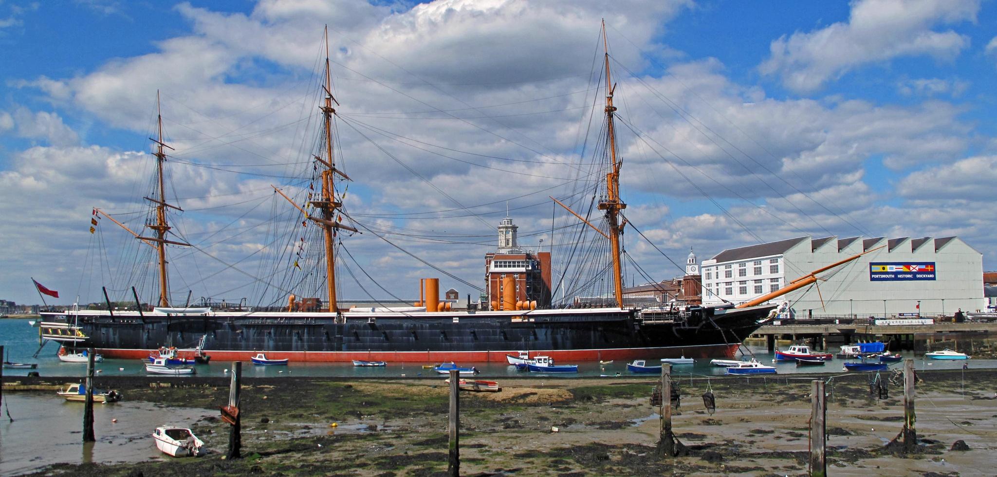HMS WARRIOR, built 1859 - 61. by jamez
