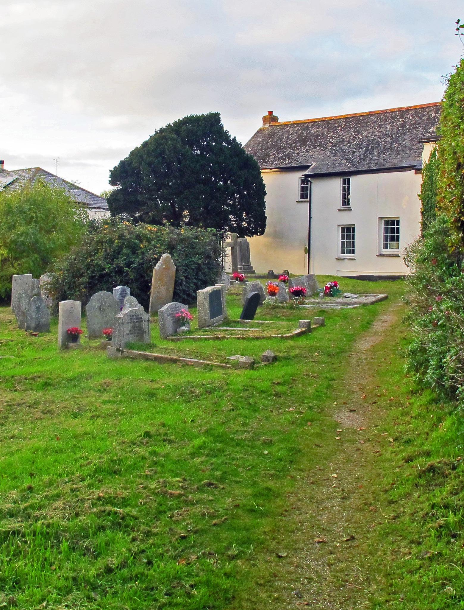 A Village Graveyard in Autumn, 3. by jamez