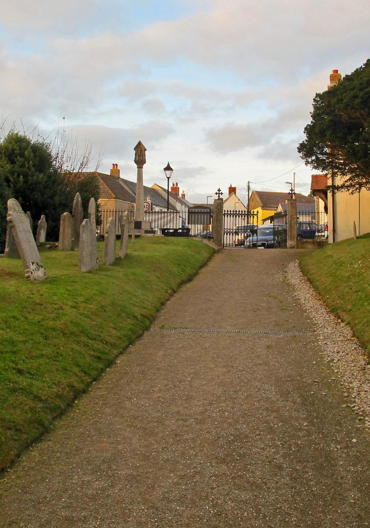 A Village Graveyard in Autumn, 15. by jamez