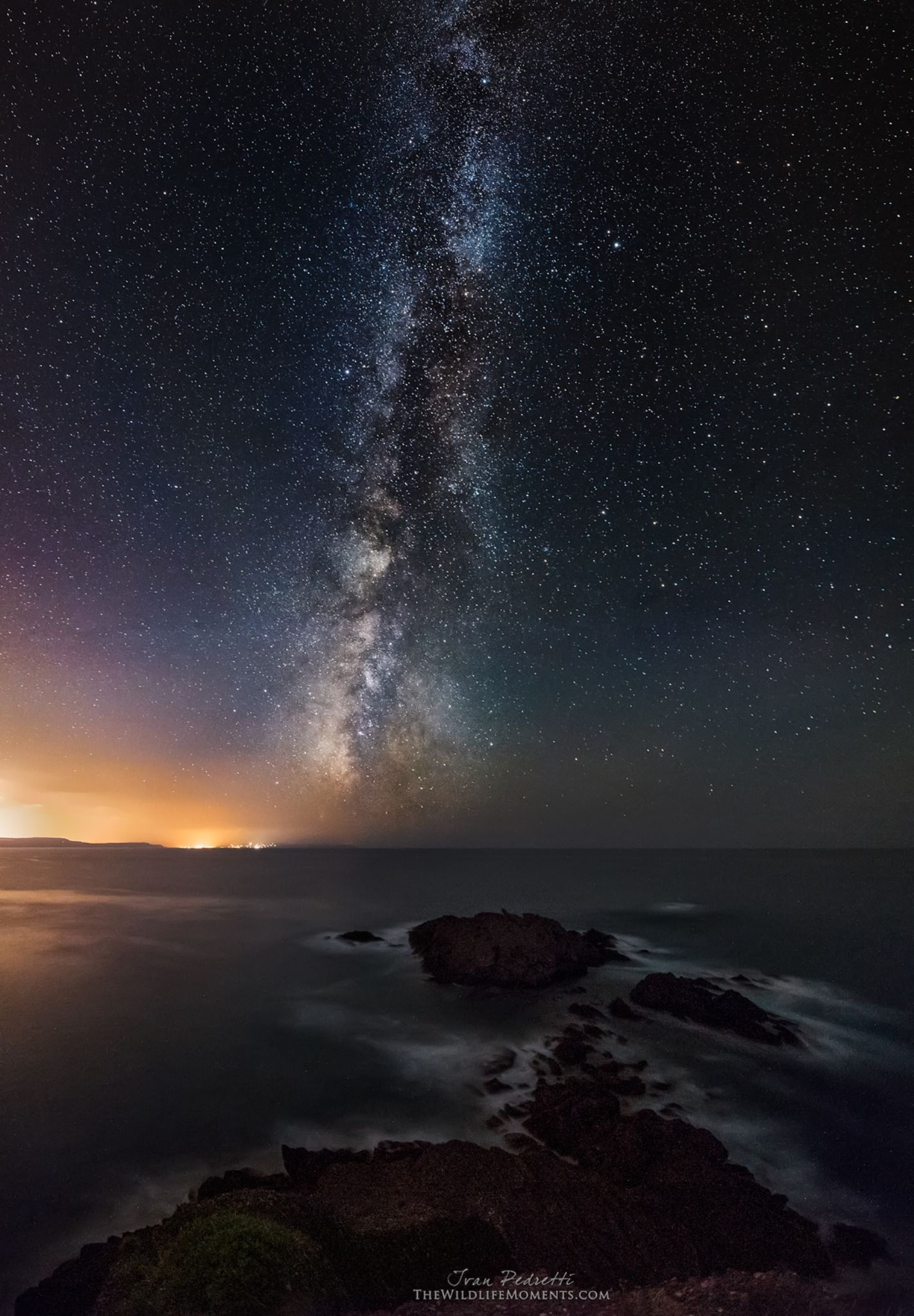 Starry bay by Ivan Pedretti
