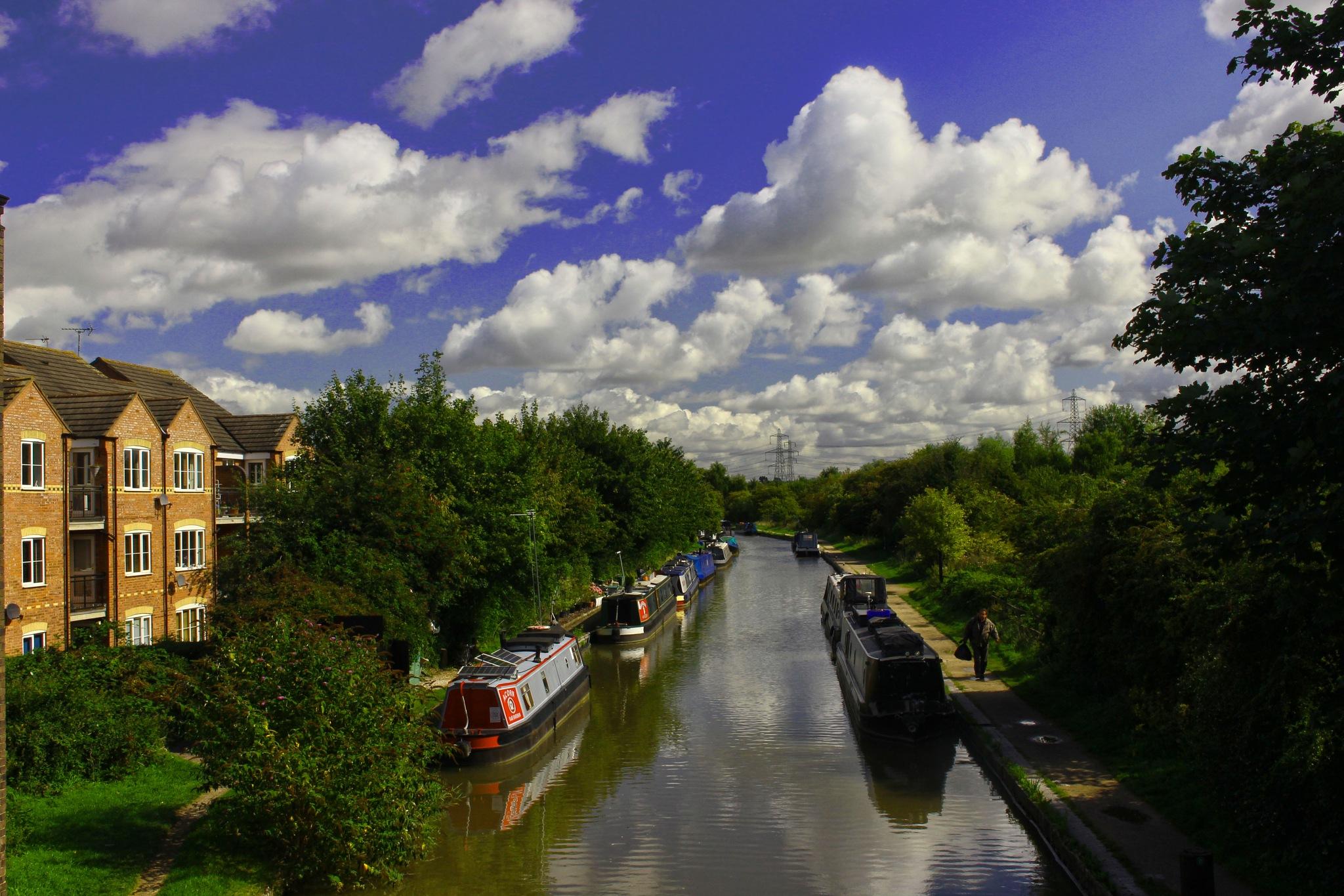 An English Canal Life by Mark Pemberton