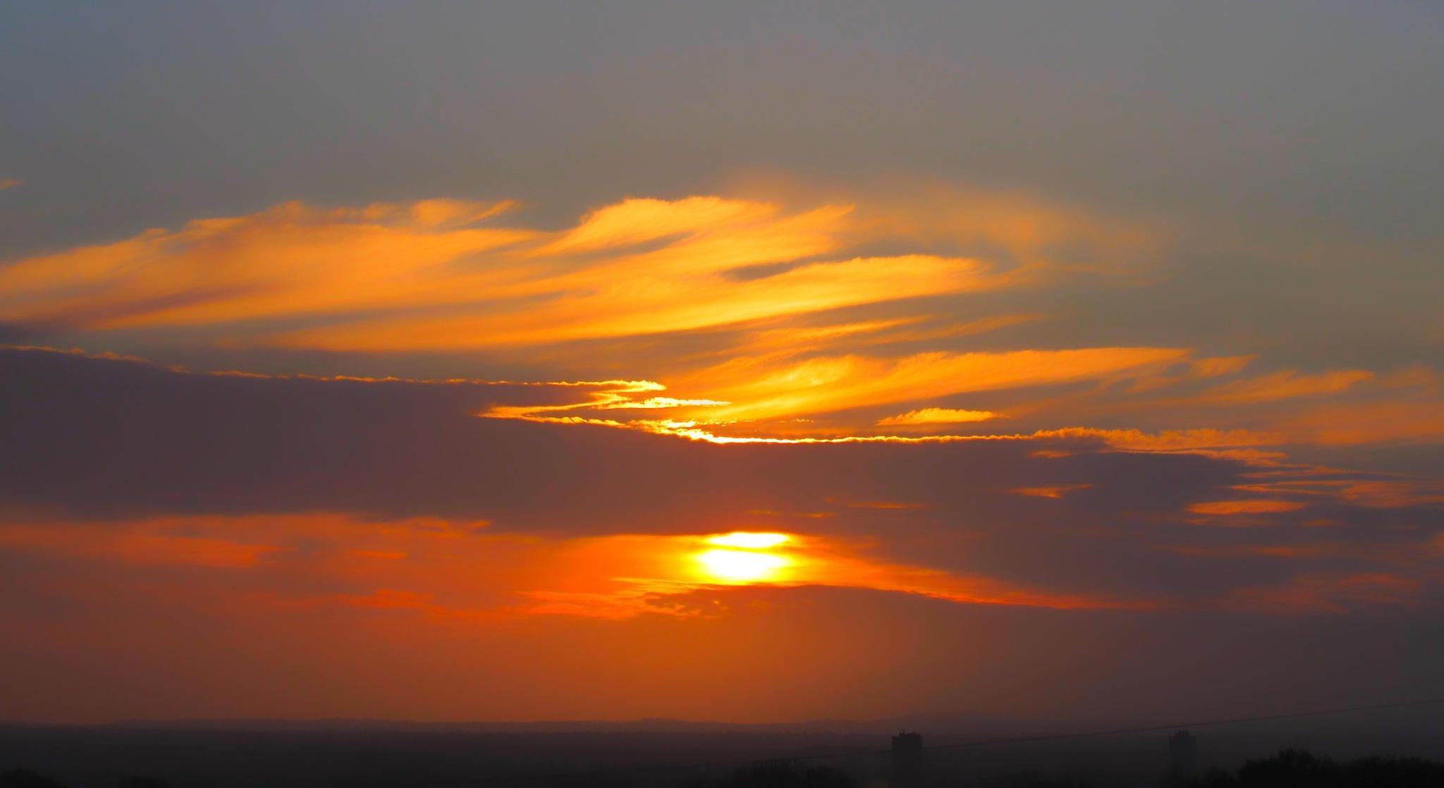 Sunrise over Coventry by Mark Pemberton