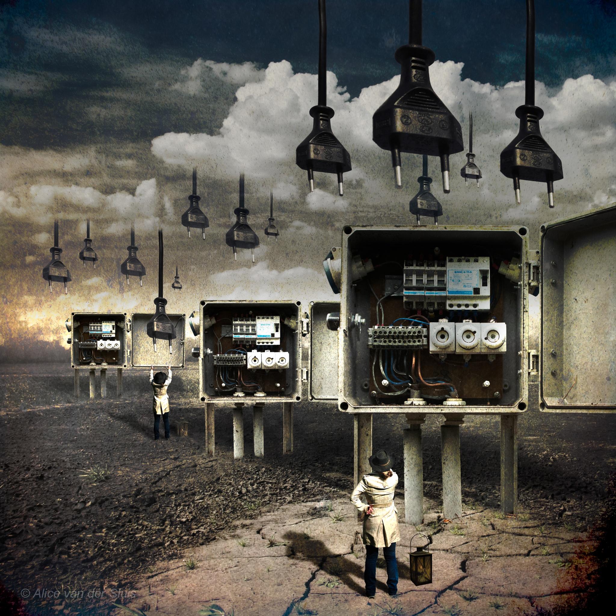 Power supply by Alice Van Der Sluis