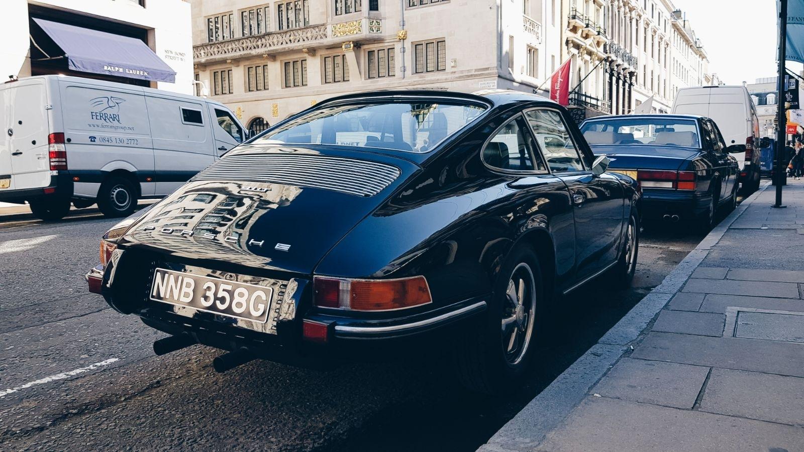 Porsche london by Sam