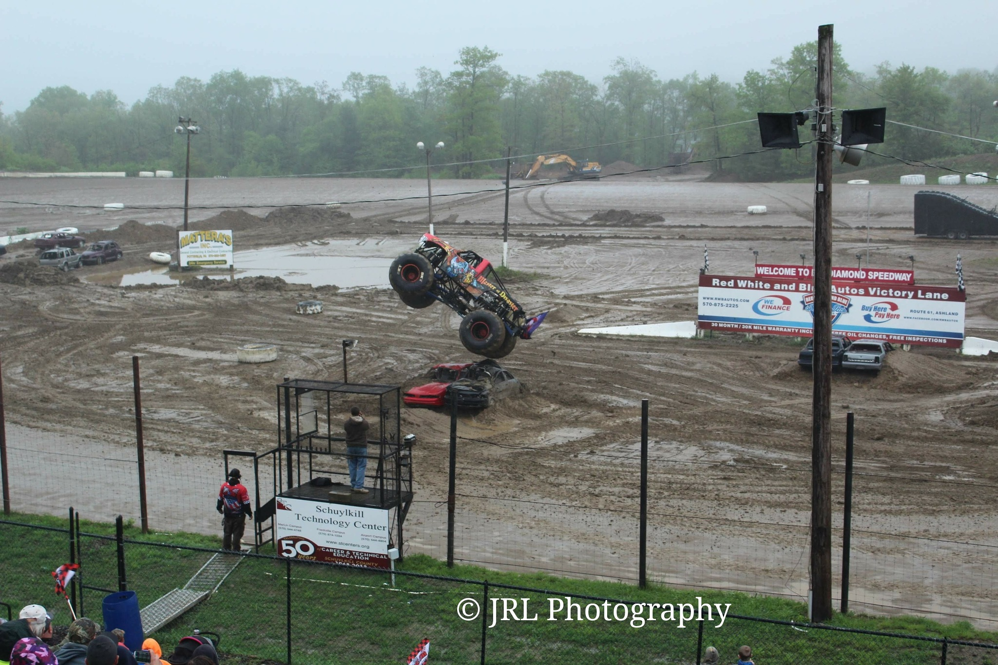 Got Muddy Air with Master of Disaster by Jason Lowe