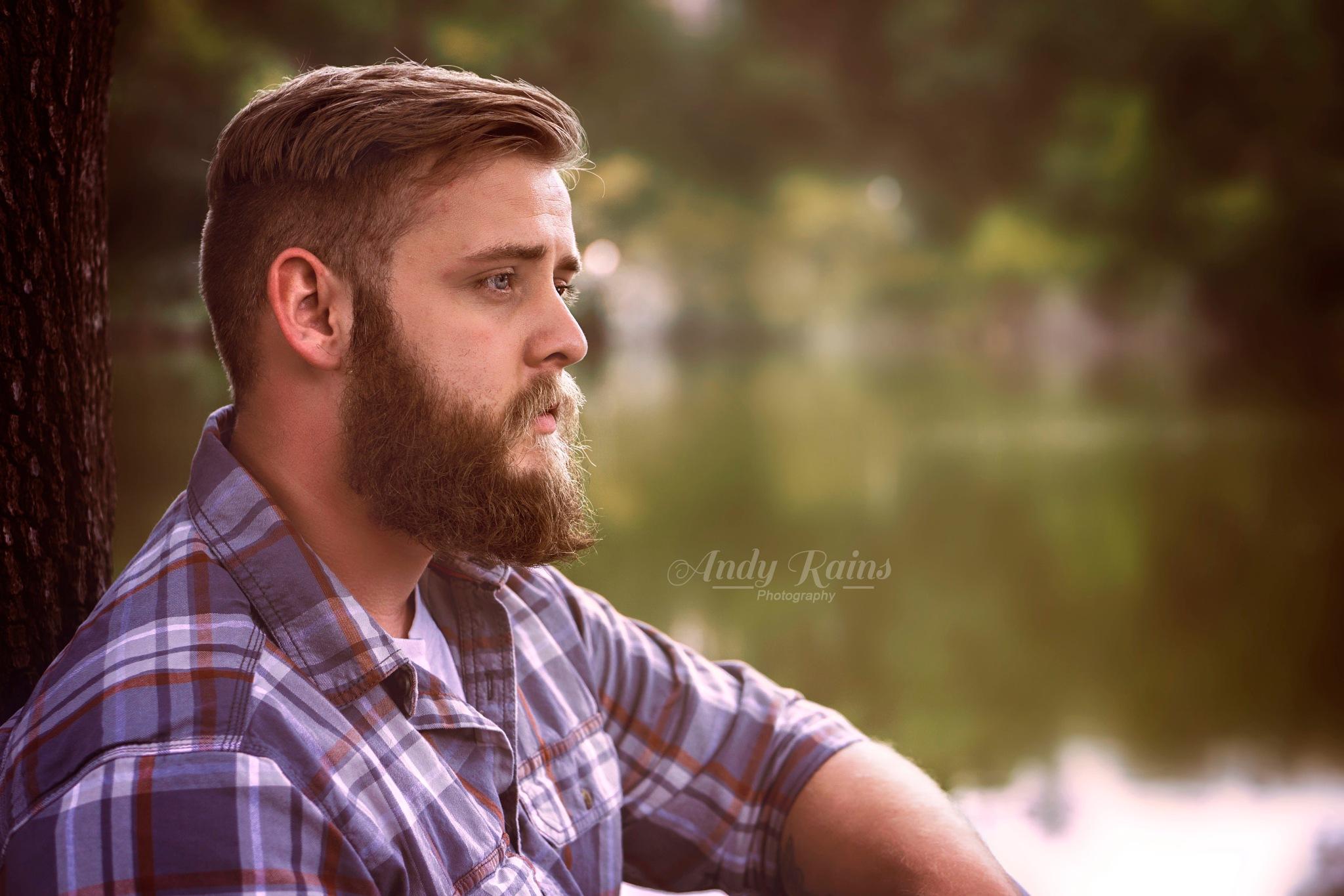 self portrait by Andy Rains