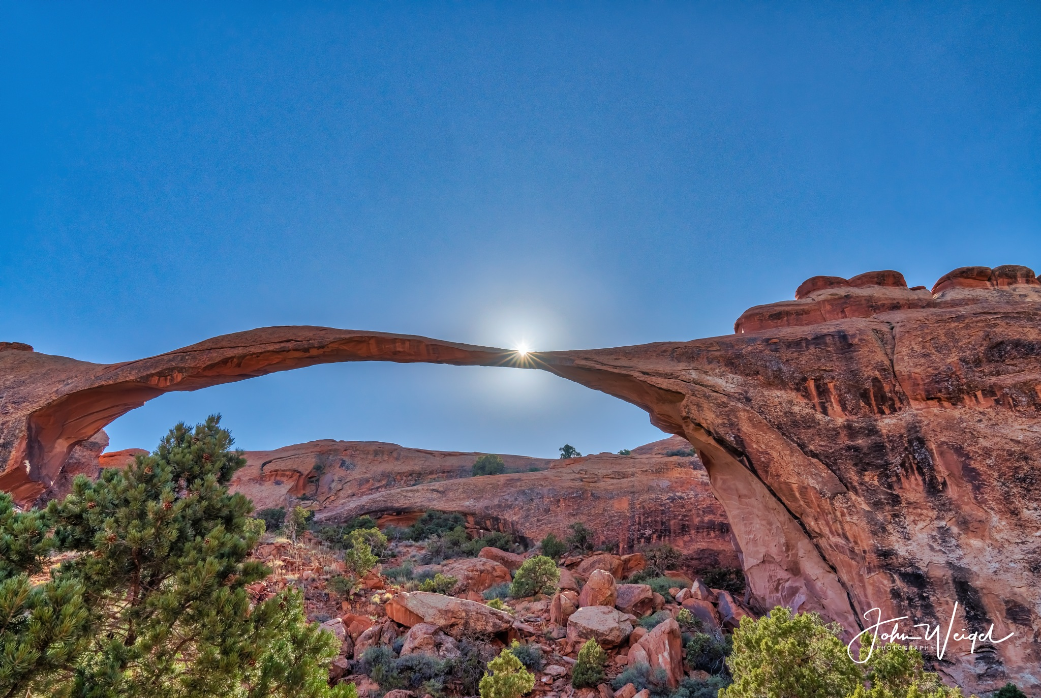Landscape Arch - Arches National Park by John Weigel