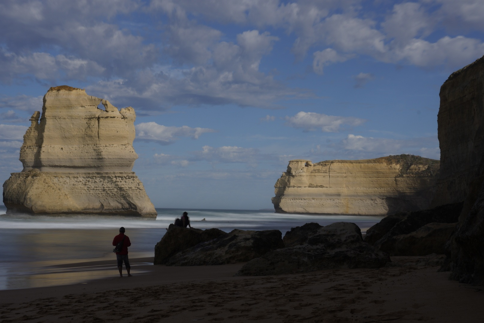 Great Ocean Road - one of the Twelve Apostles. by John Weigel