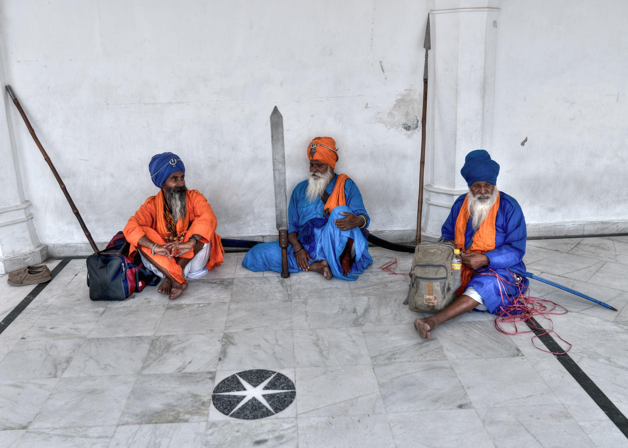Sikh Guards by John Weigel
