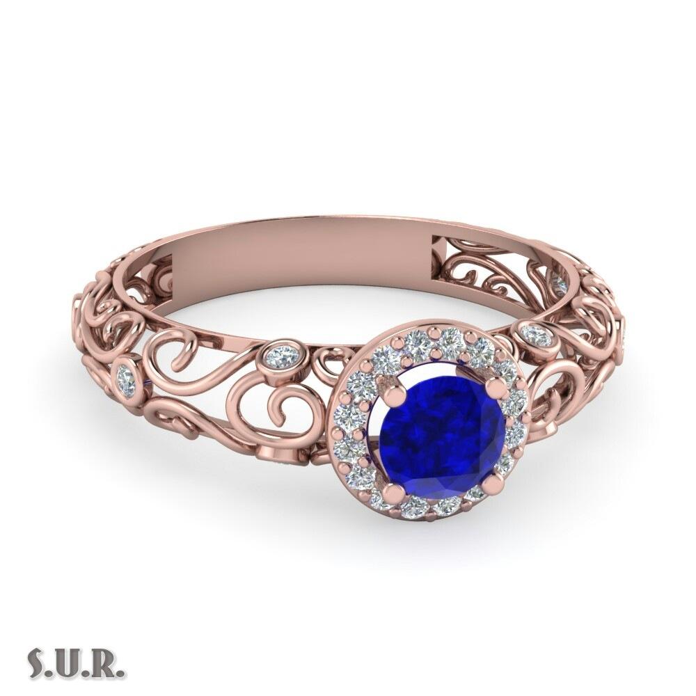 The Blue Sapphire Ring. by Sardar Umar Rauf