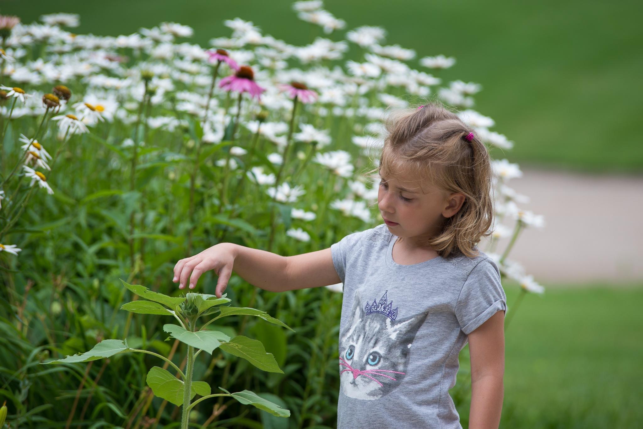 Flower Whisperer  by Kajean Secord Bennett