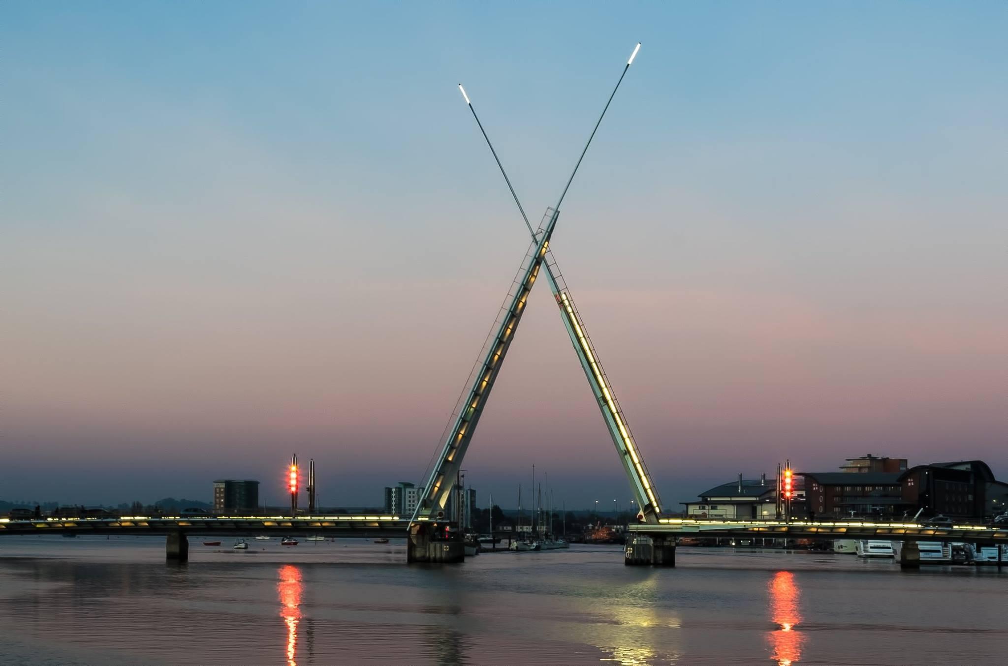 Twin Sails Bridge by Gary Capstick