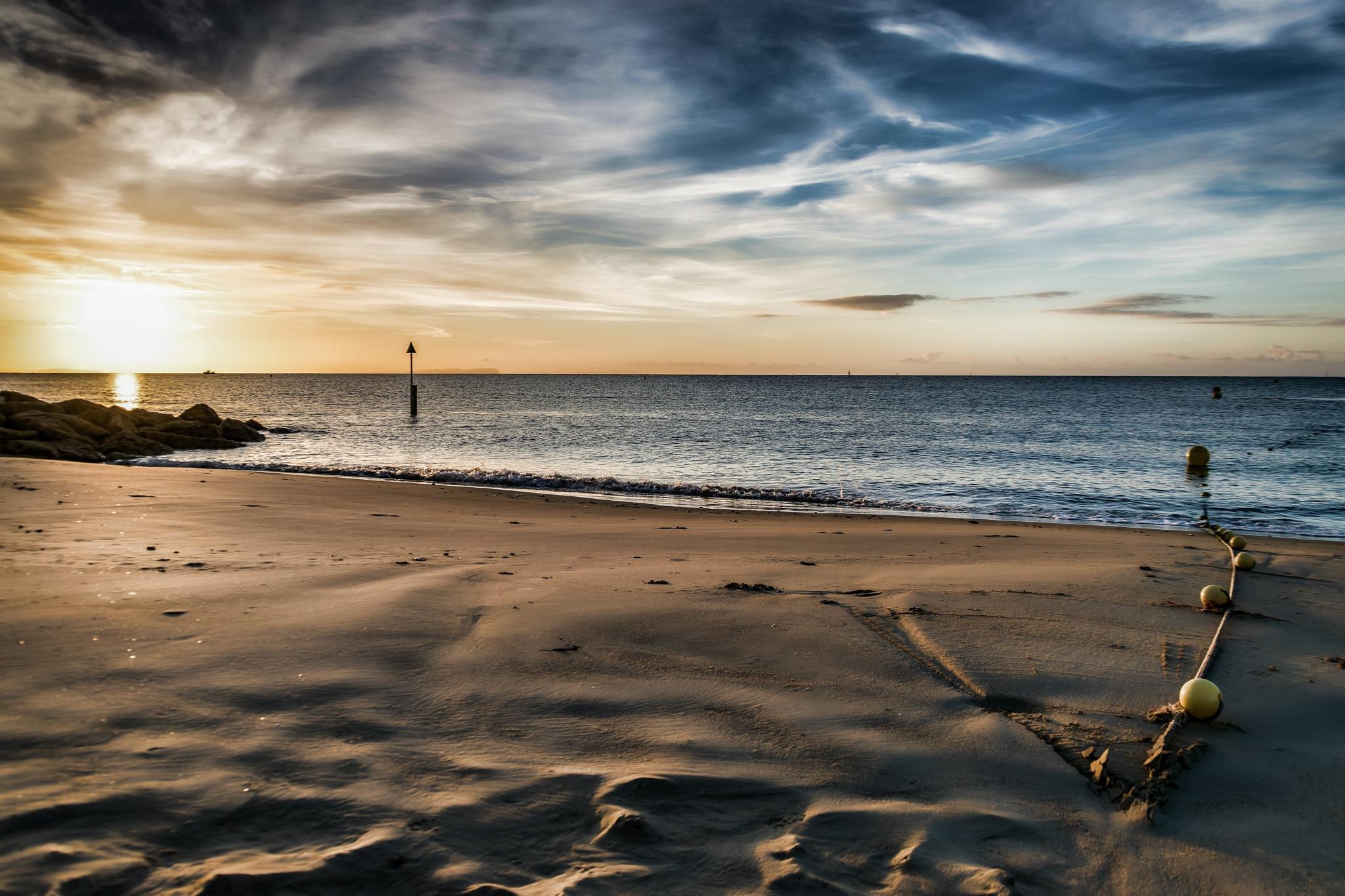 Early Morning Sandbanks by Gary Capstick
