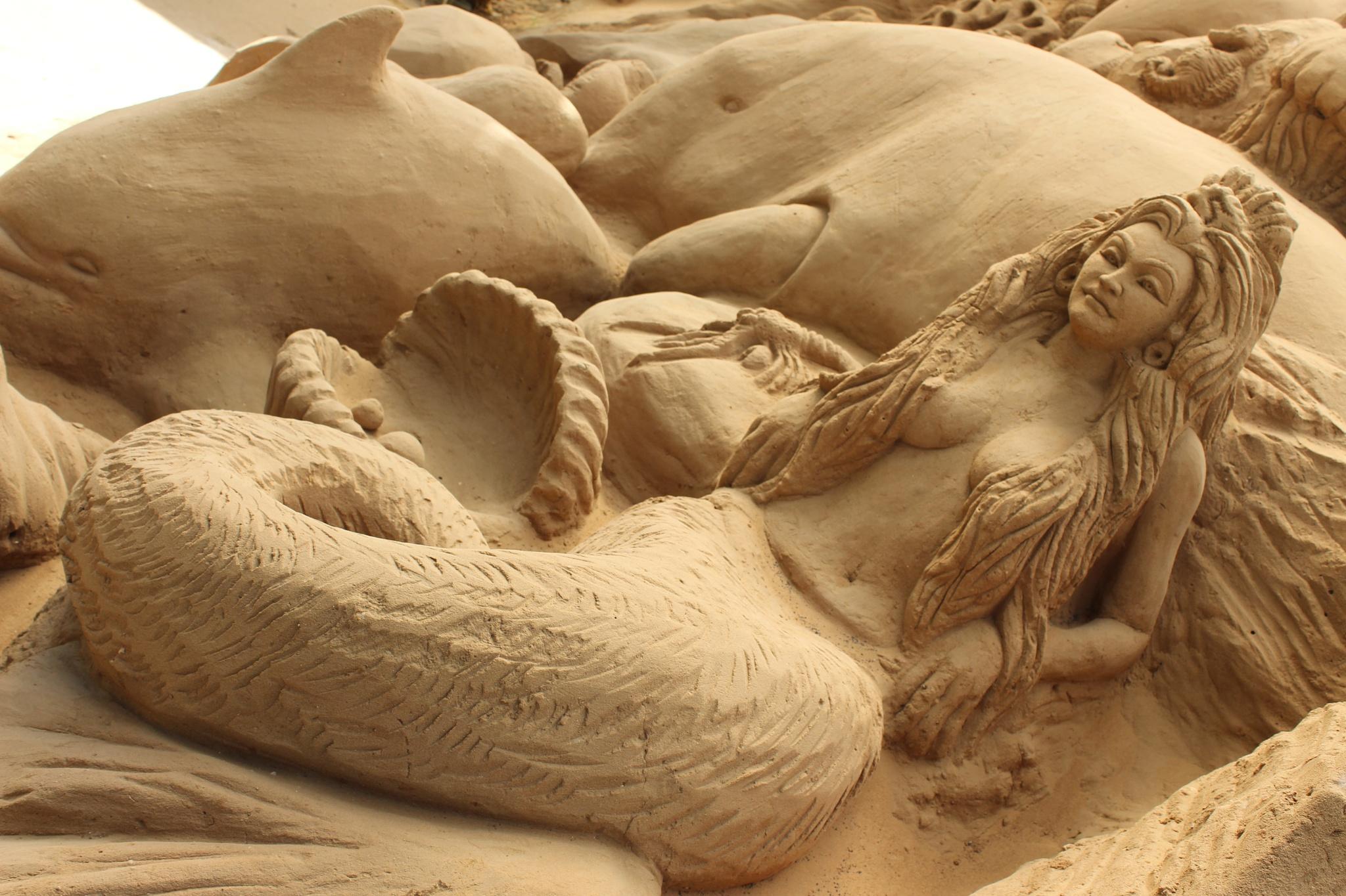 SAND creation by Kiran Basu