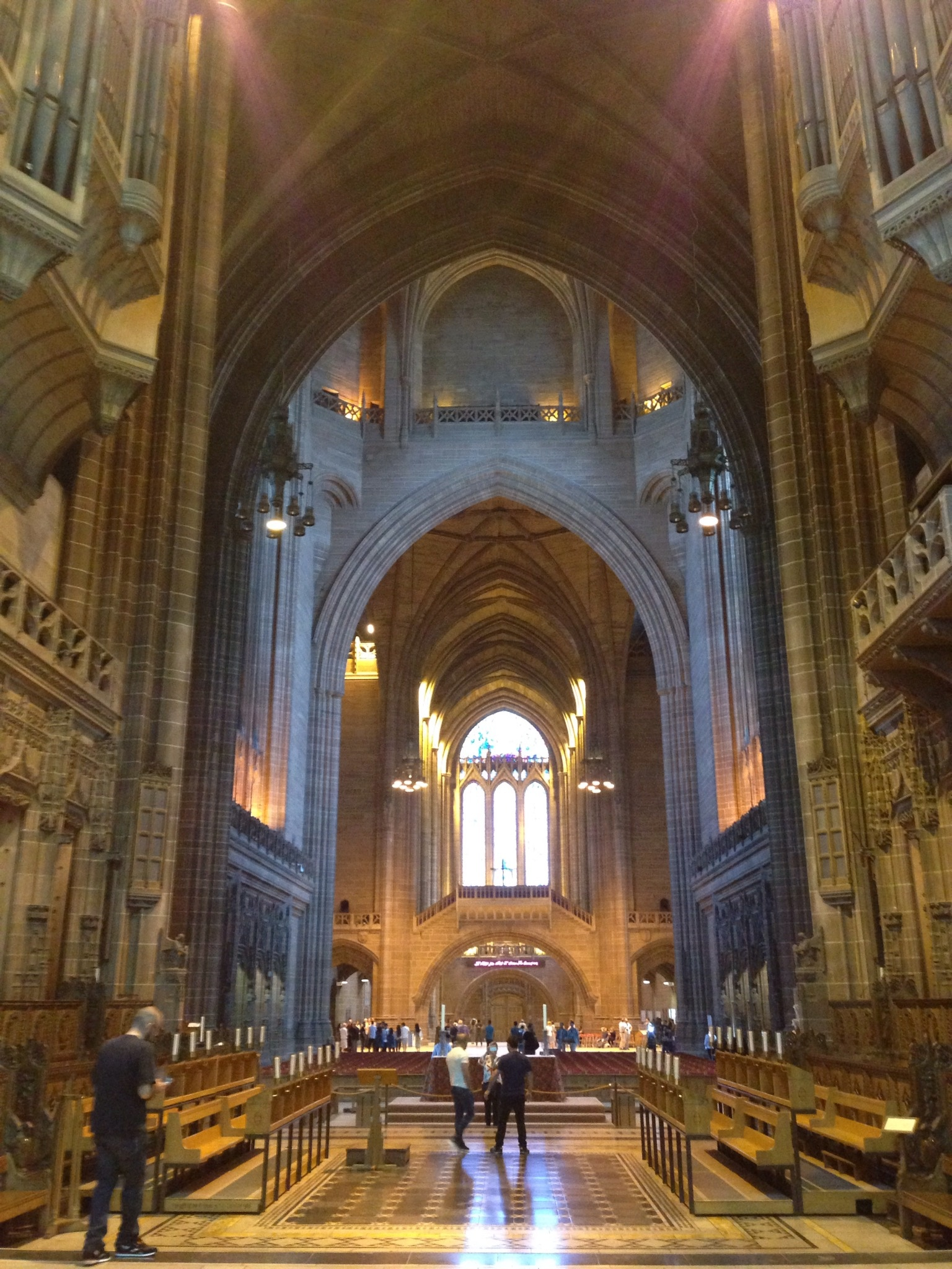 View from the Altar by Nicola Churchward