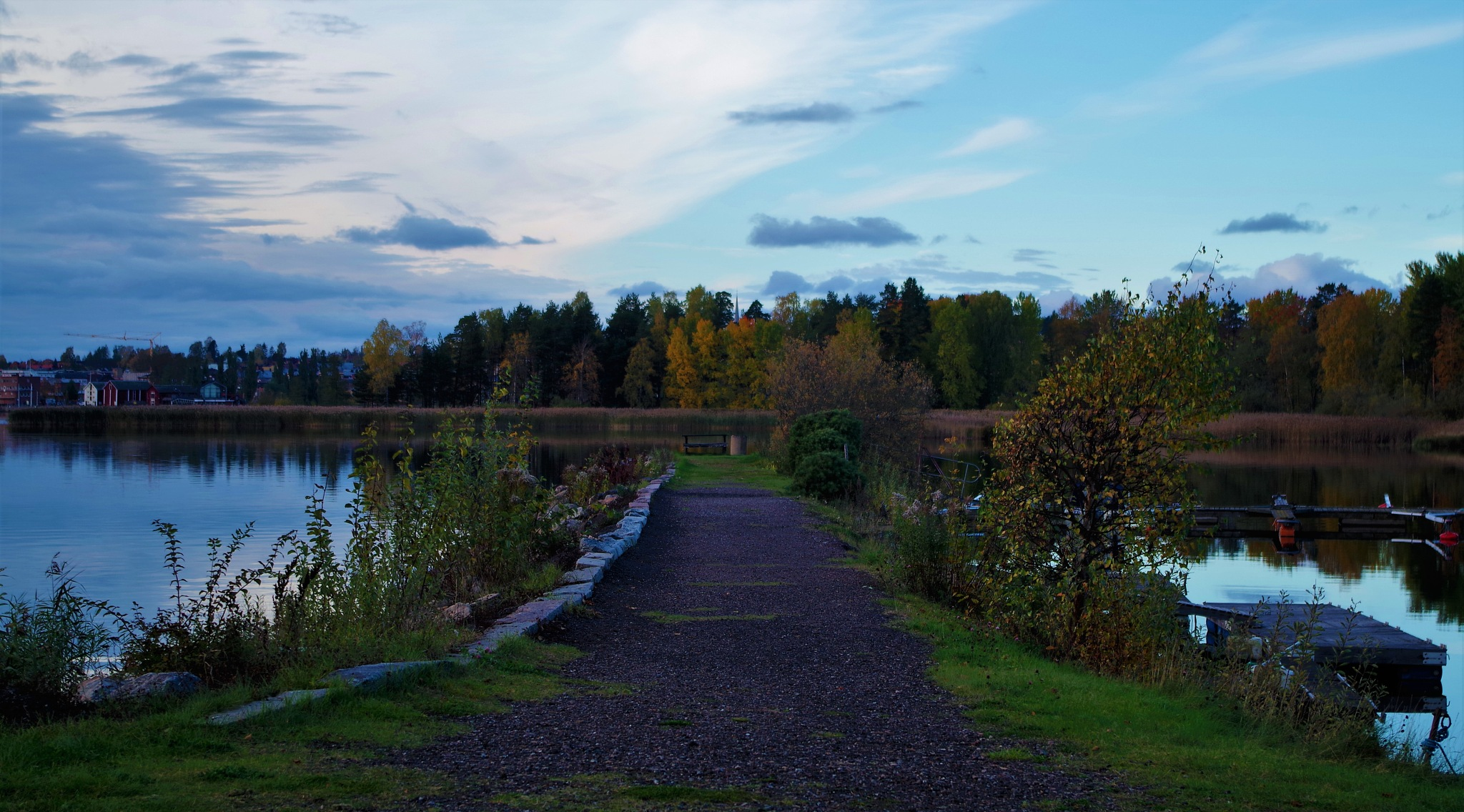 Fall in Arvika by Ina Matilda Tomasson