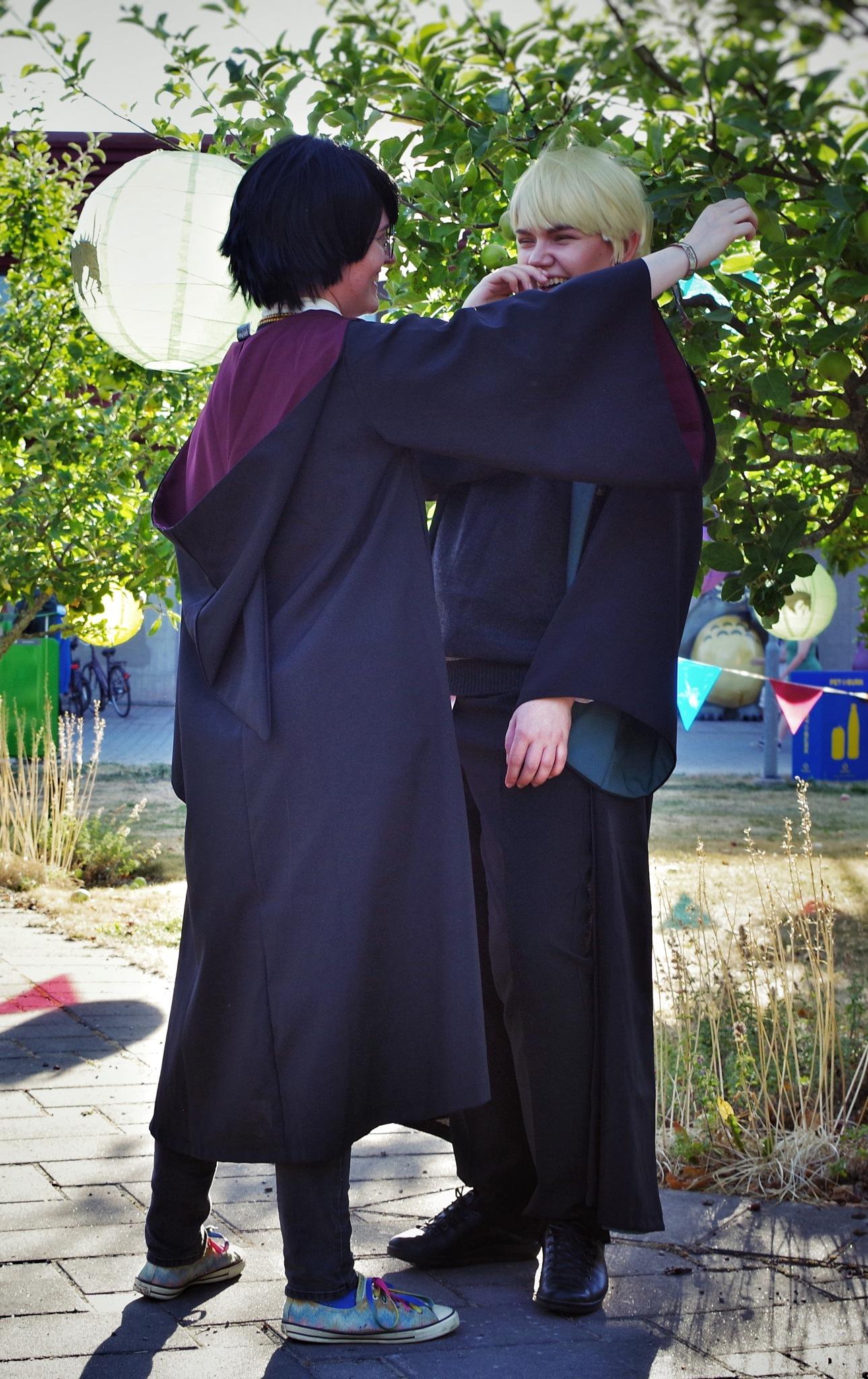 Cosplay Harry & Draco by Ina Matilda Tomasson