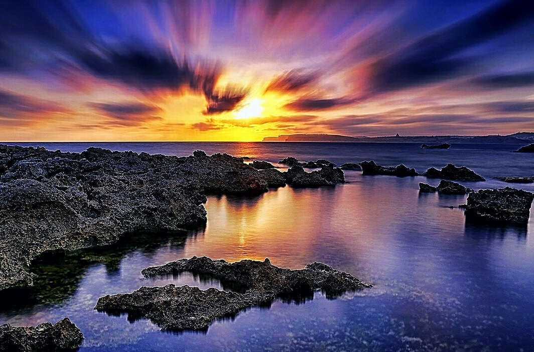 Fire and water by Paolo Calò photography