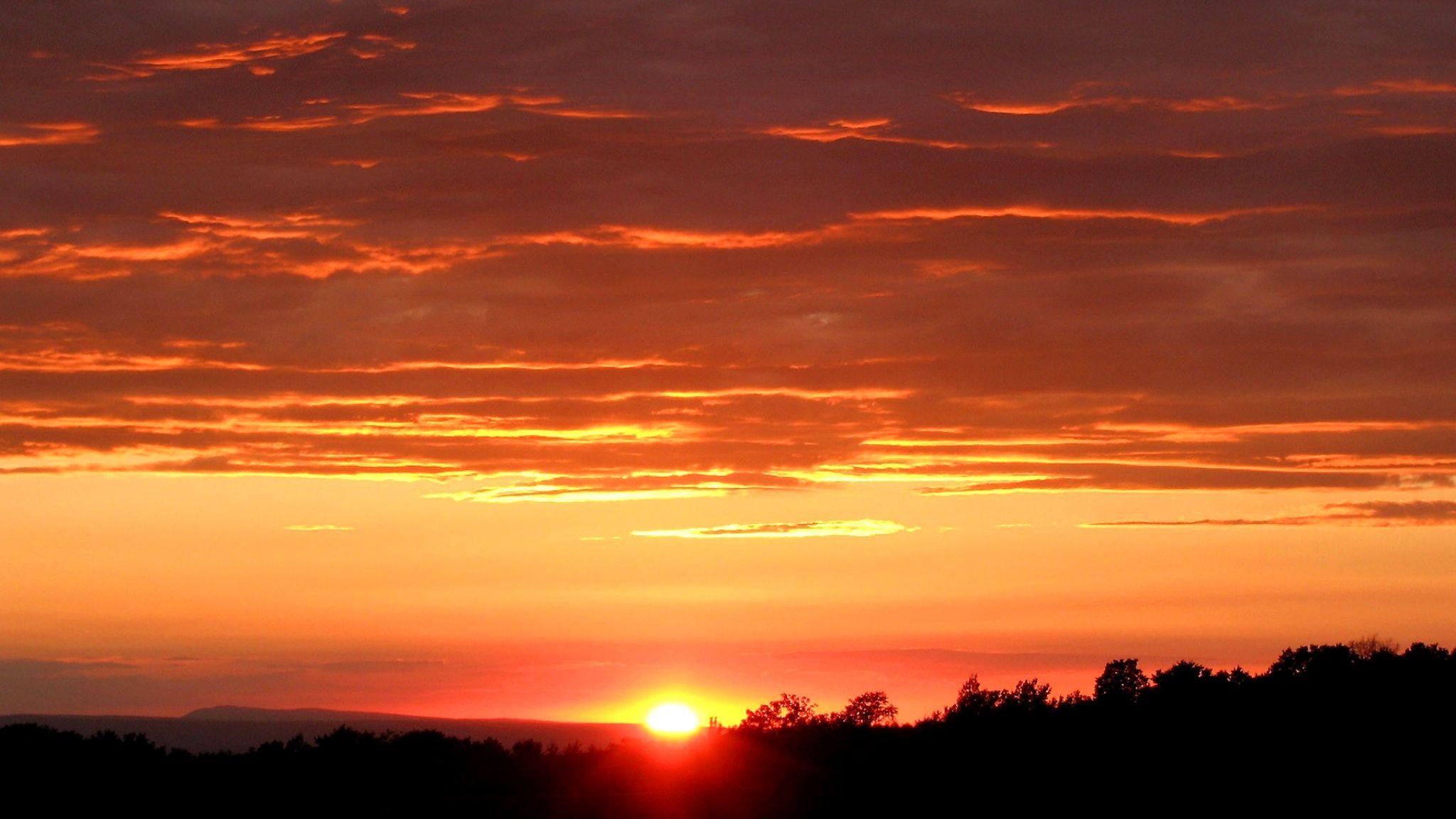 Sunset by Alessandro Anadima