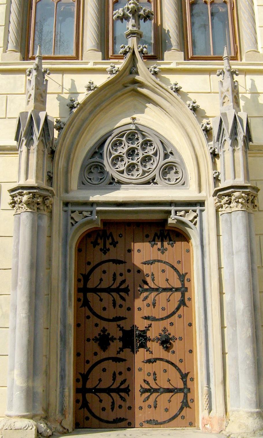 Photo in Architecture #door #sturdza #castle #romania