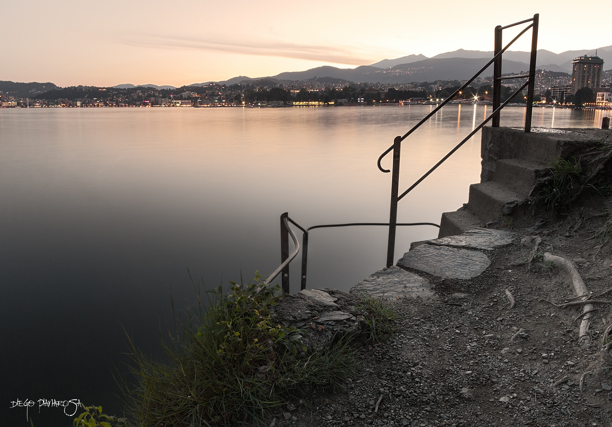 Down to the lake by Diego Pianarosa