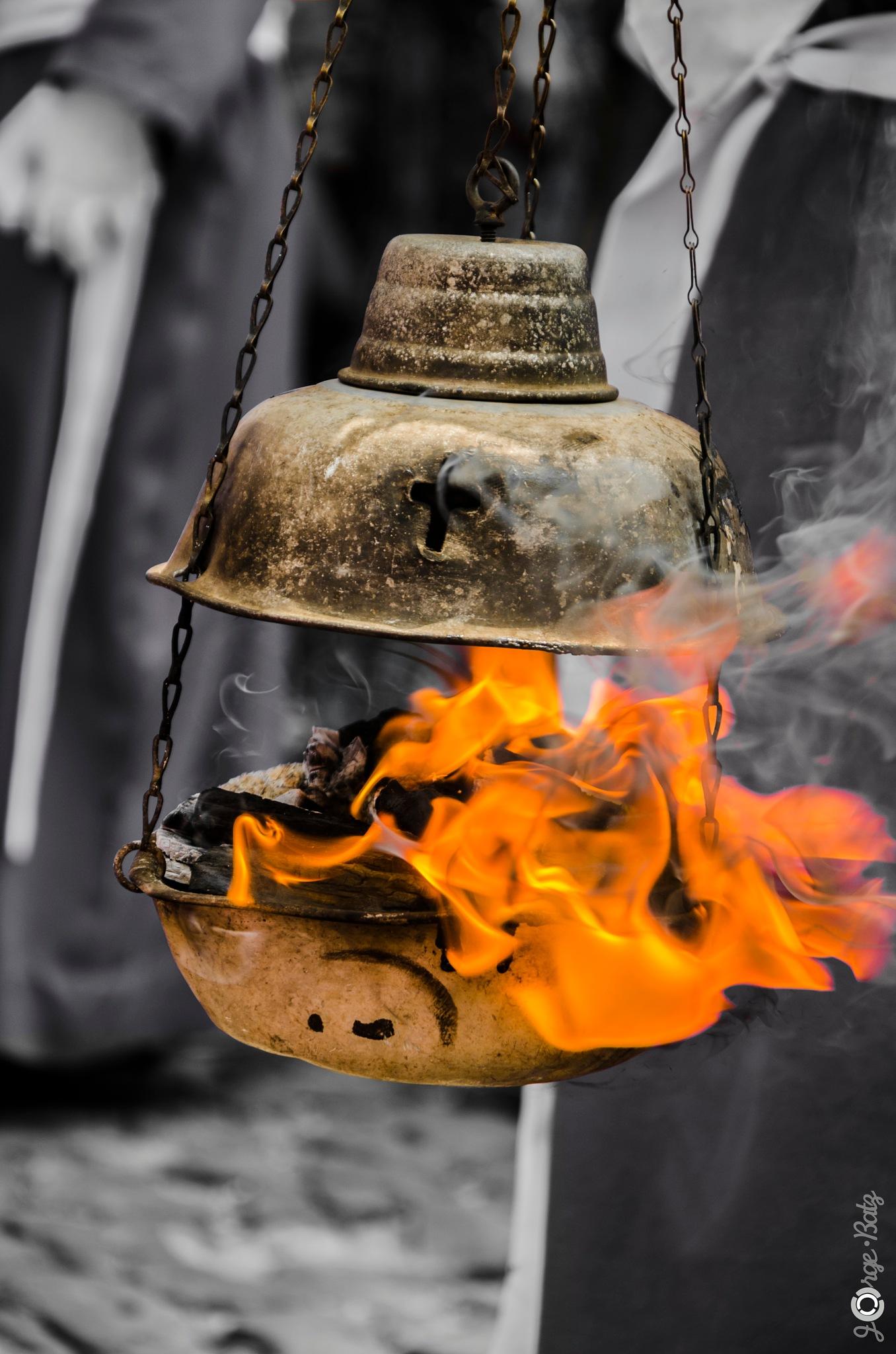 """""""The aroma of incense"""" by Jorge Enrique Batz"""