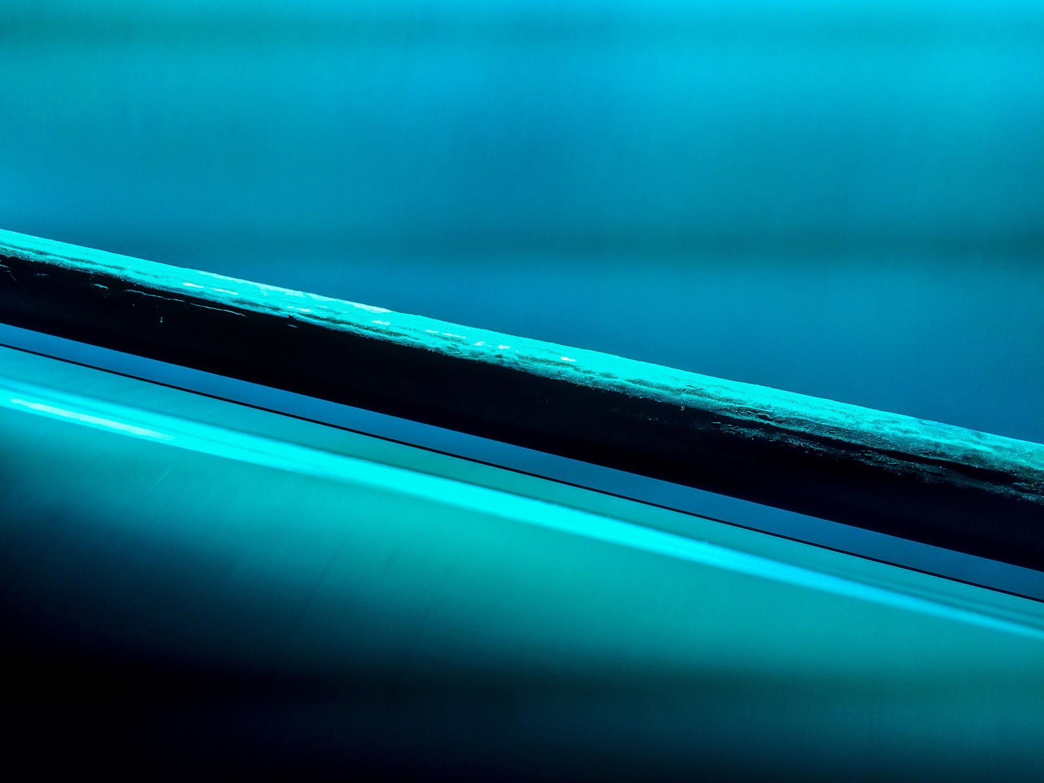 Blue Bar Over Web by RwBesler