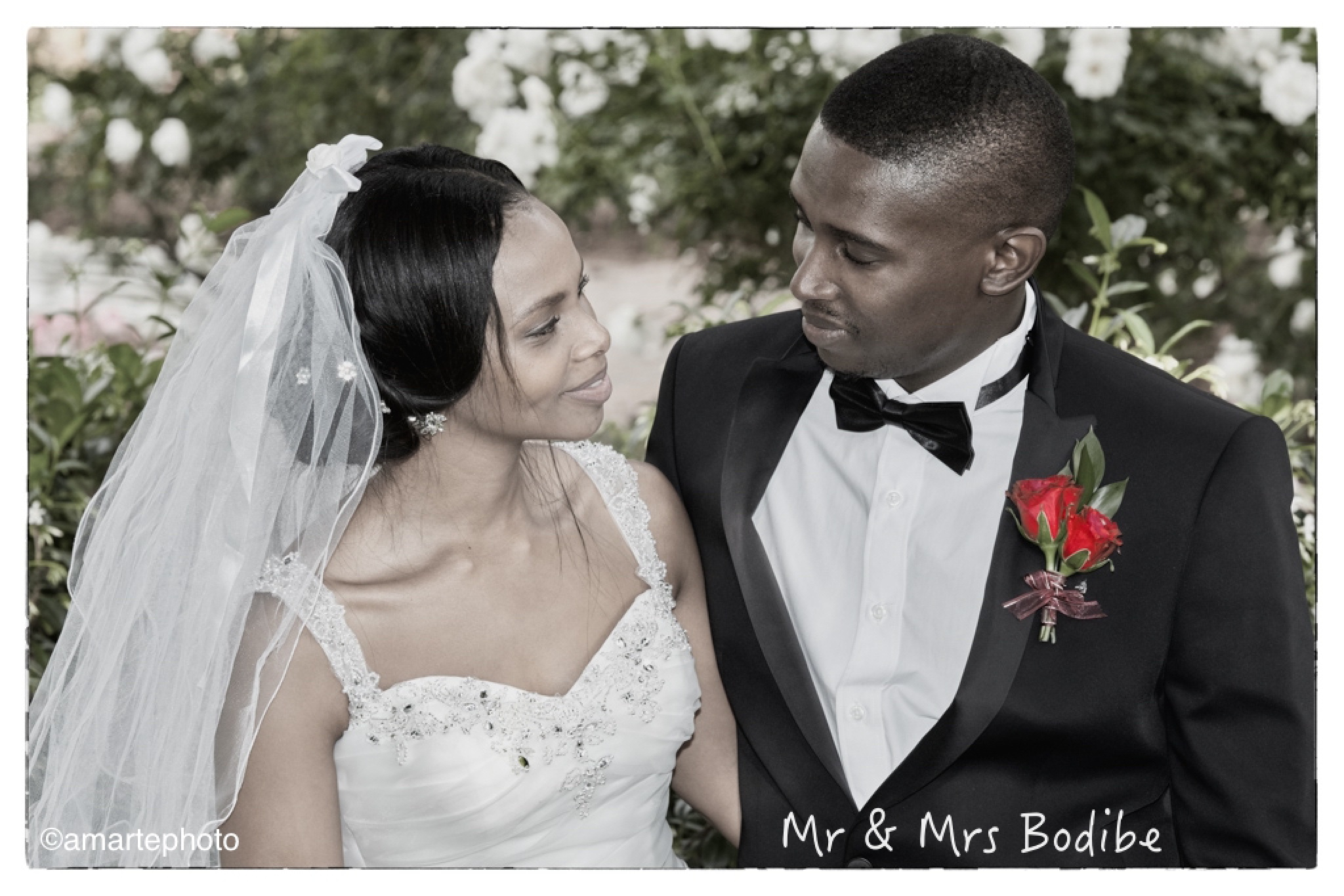 Mr and Mrs Bodibe by 4CamRes Multimedia