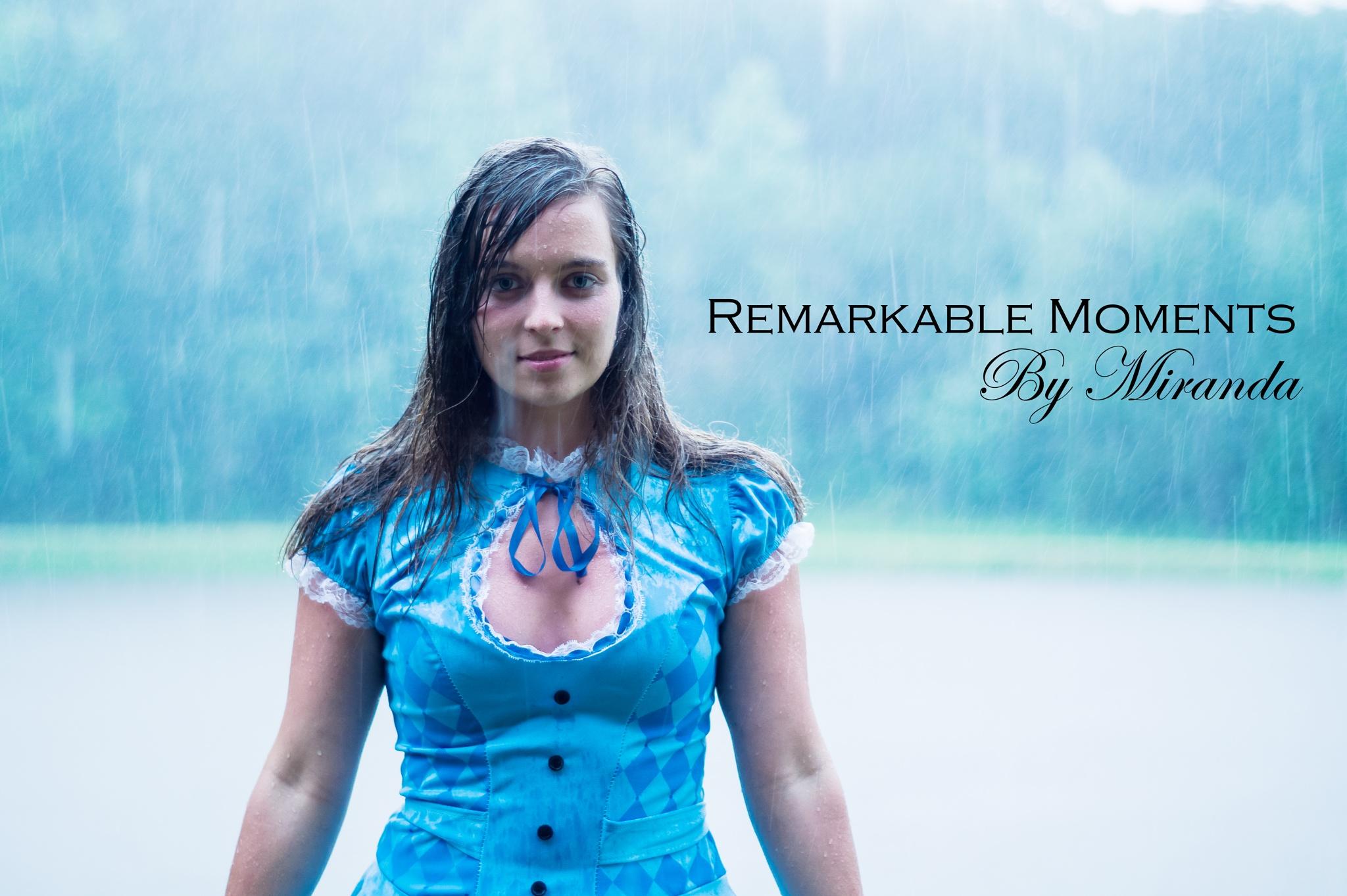 Photo in Portrait #alice #alice in wonderland #rainy alice #raining #rain drops