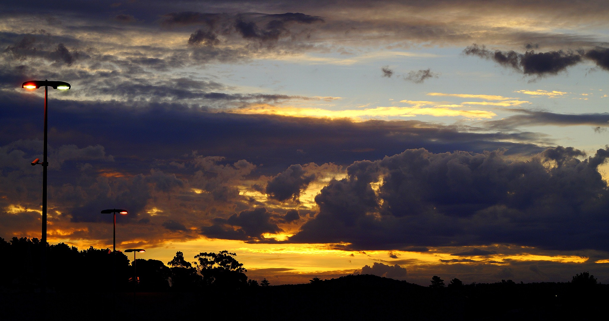Dramatic Clouds by PeterE