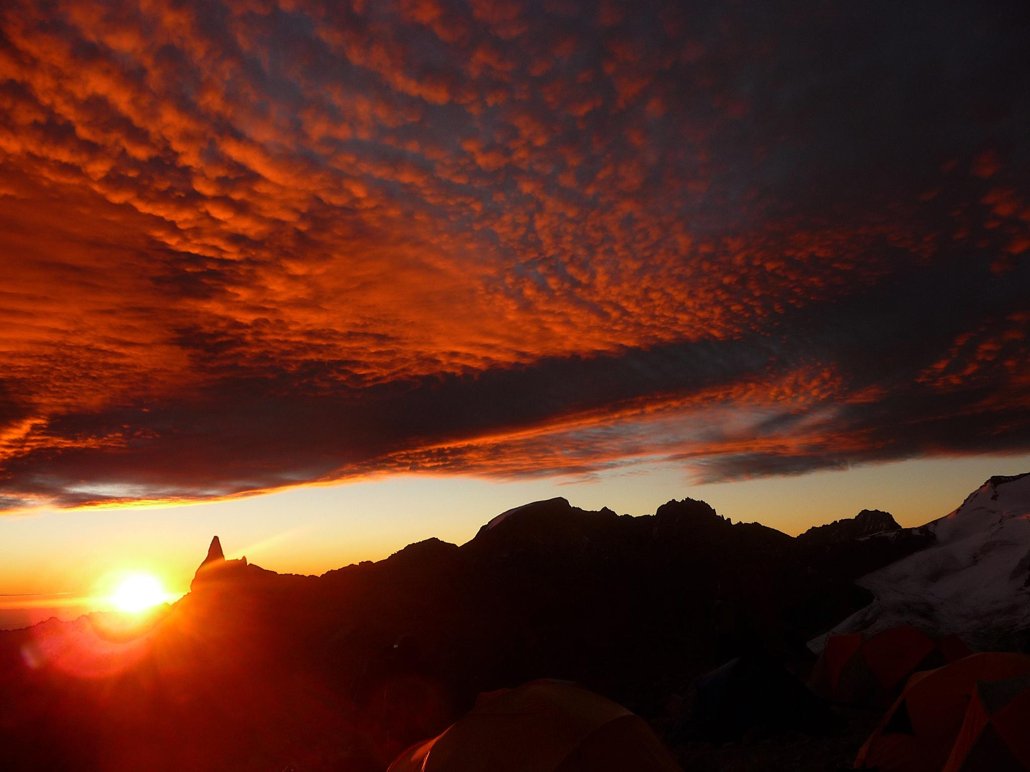 Aconcagua -  Camp 1 by Rumen Semerdjiev