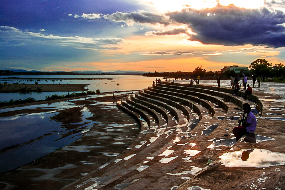 Atardecer en el Mekong by ropopo4