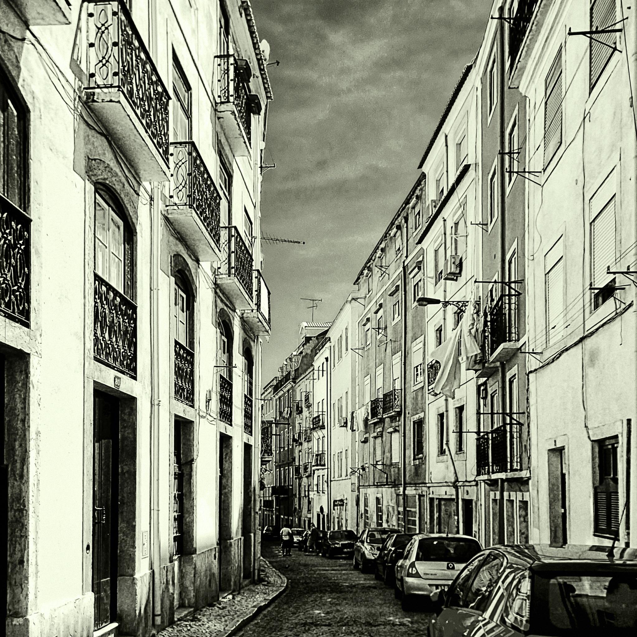 A Lisbon street (Walking around) by JuanM